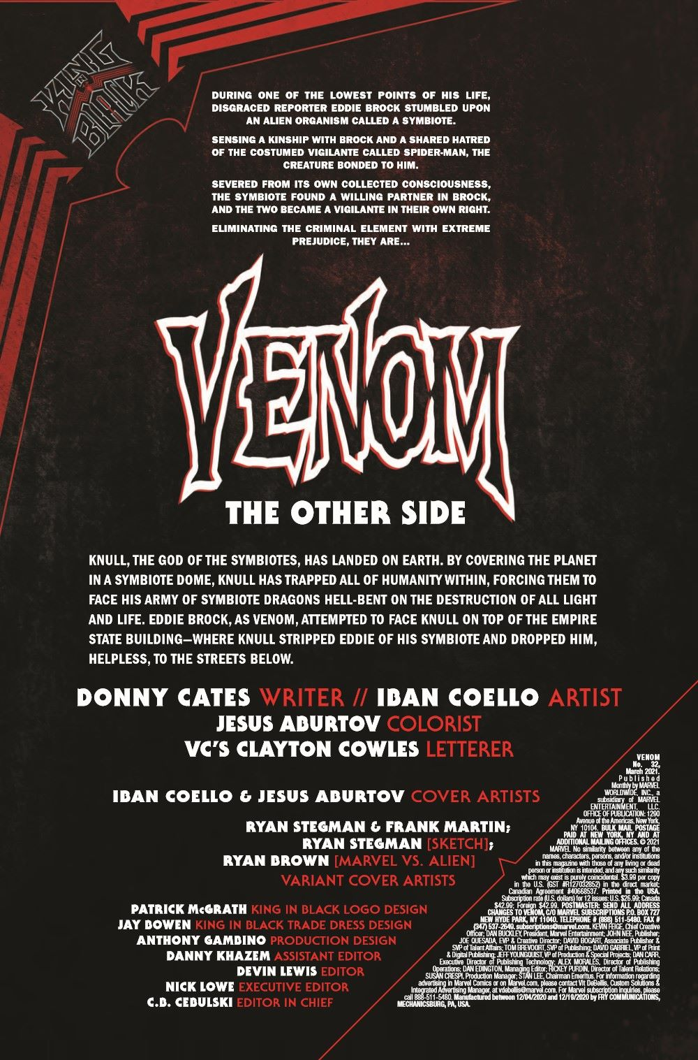 VENOM2018032_Preview-2 ComicList Previews: VENOM #32
