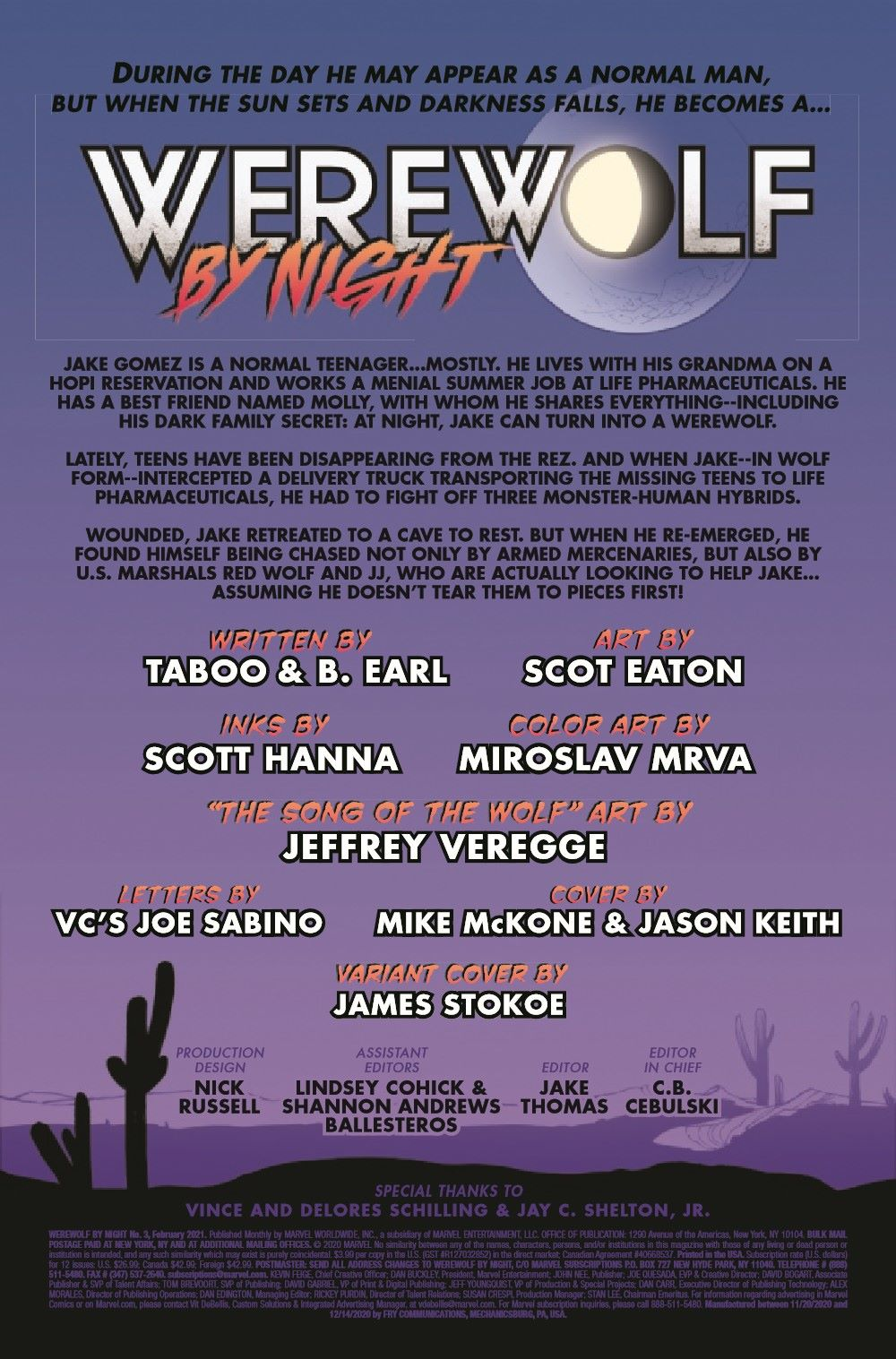 WBN2020003_Preview-2 ComicList Previews: WEREWOLF BY NIGHT #3 (OF 4)