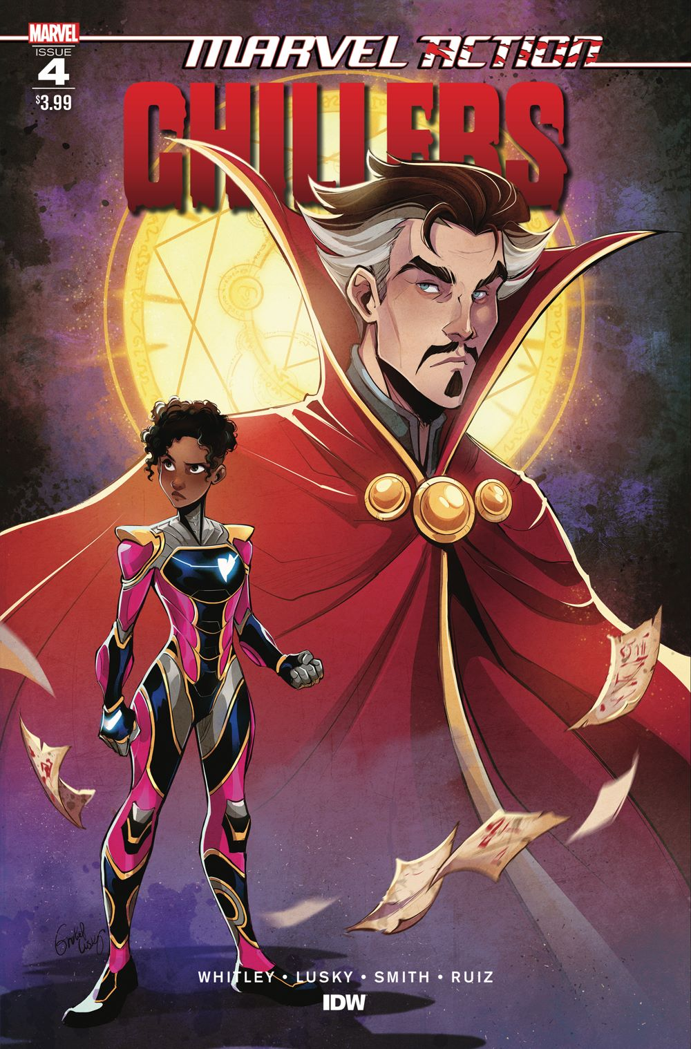 AvengersCHILLERS_04_CvrA ComicList: IDW Publishing New Releases for 02/03/2021