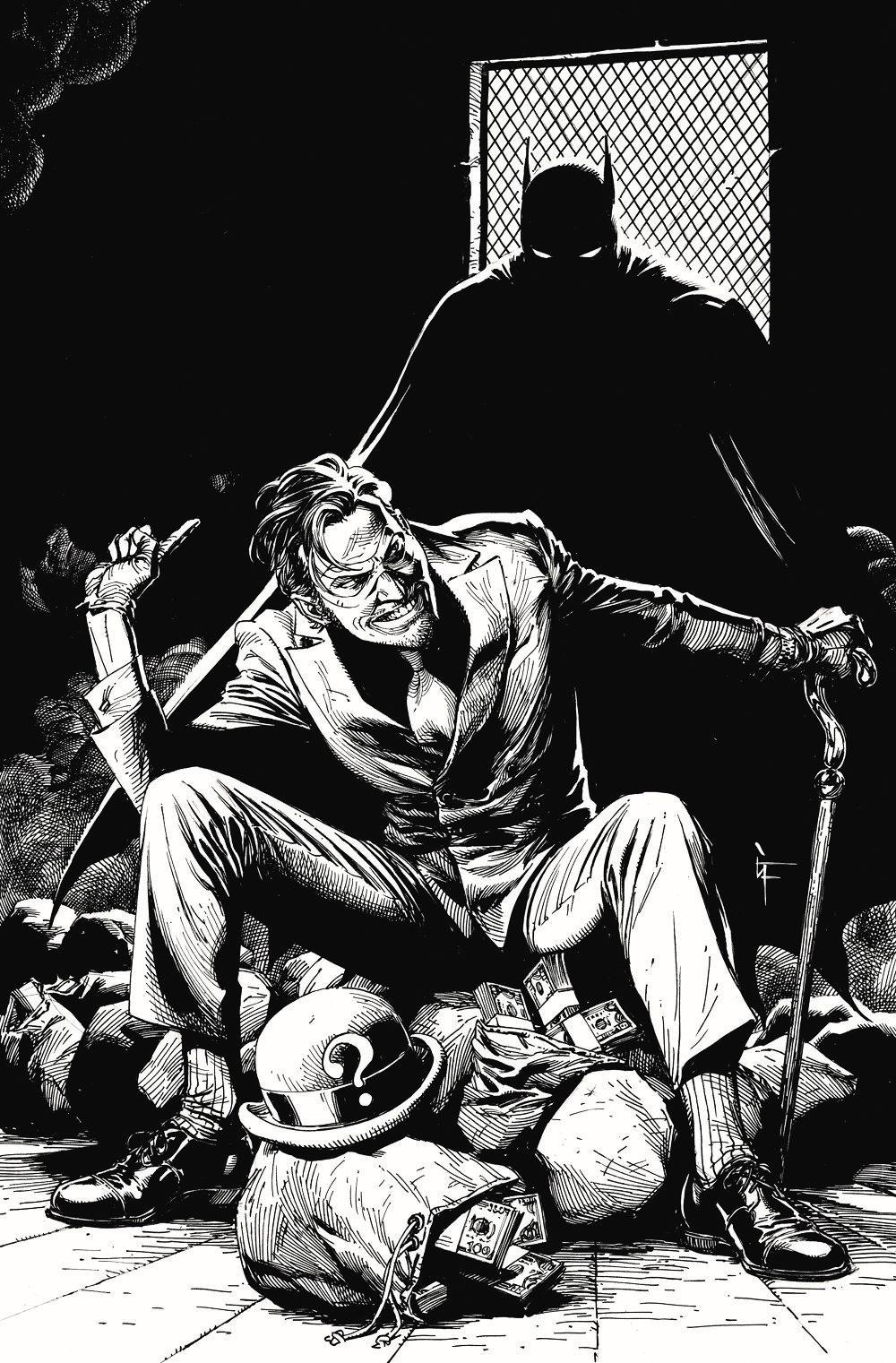 BM_BW_5_Variant_Riddler_Frank DC Comics April 2021 Solicitations