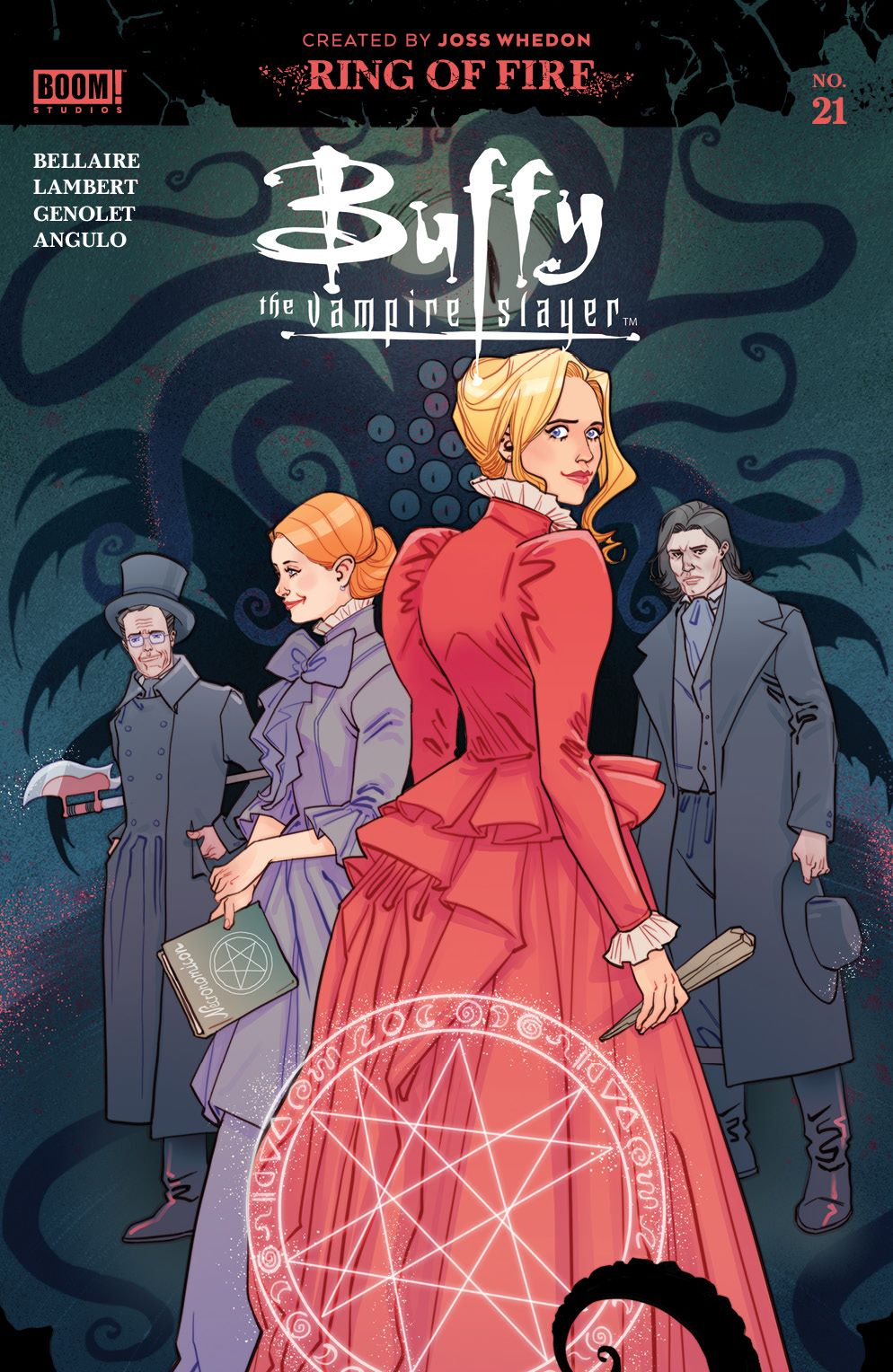 Buffy_021_Cover_B_Multiverse ComicList: BOOM! Studios New Releases for 01/06/2021