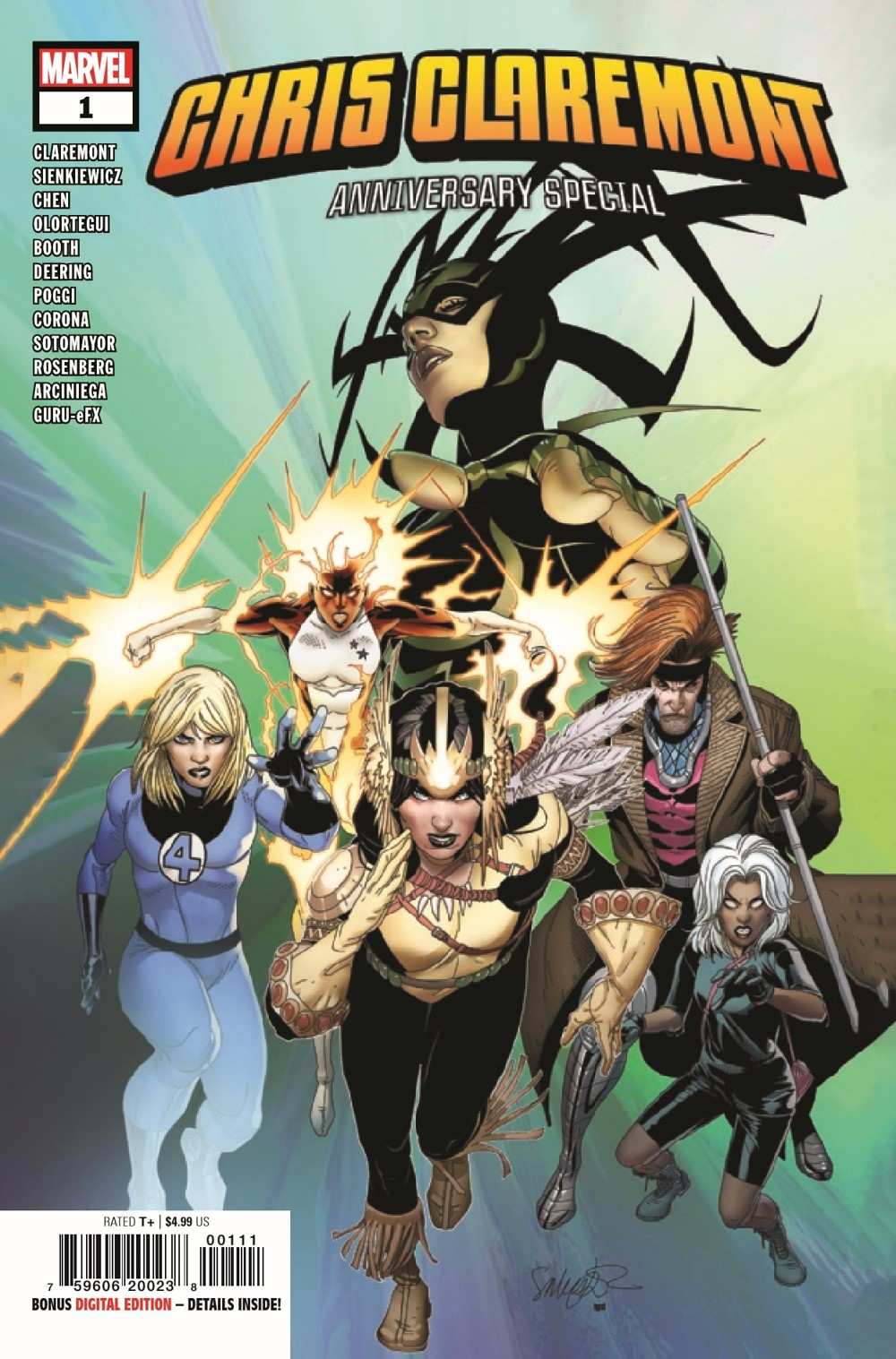 CLAREMONTSP2020001_Preview-1 ComicList Previews: CHRIS CLAREMONT ANNIVERSARY SPECIAL #1