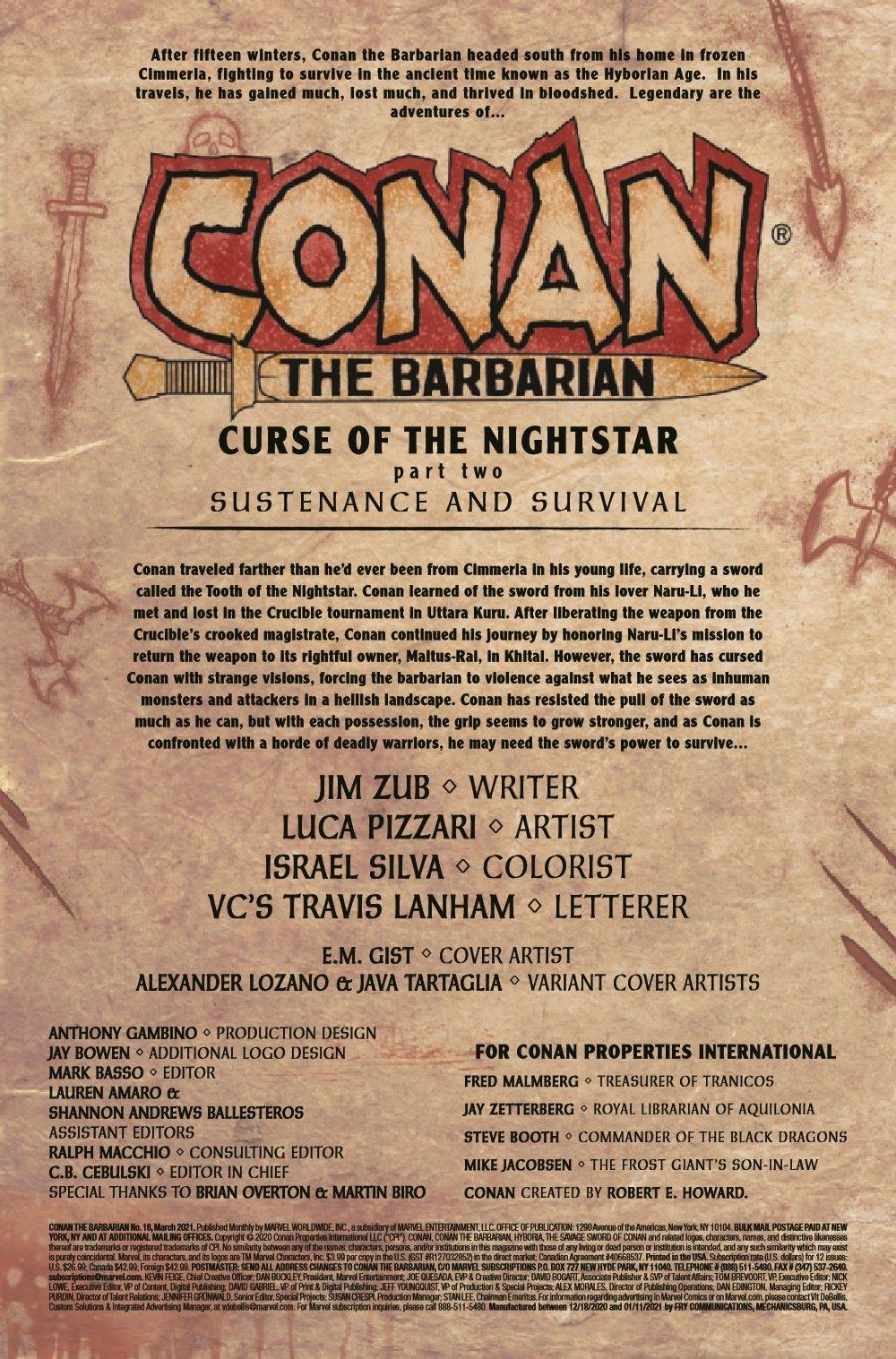 CONANBARB2019018_Preview-2 ComicList Previews: CONAN THE BARBARIAN #18