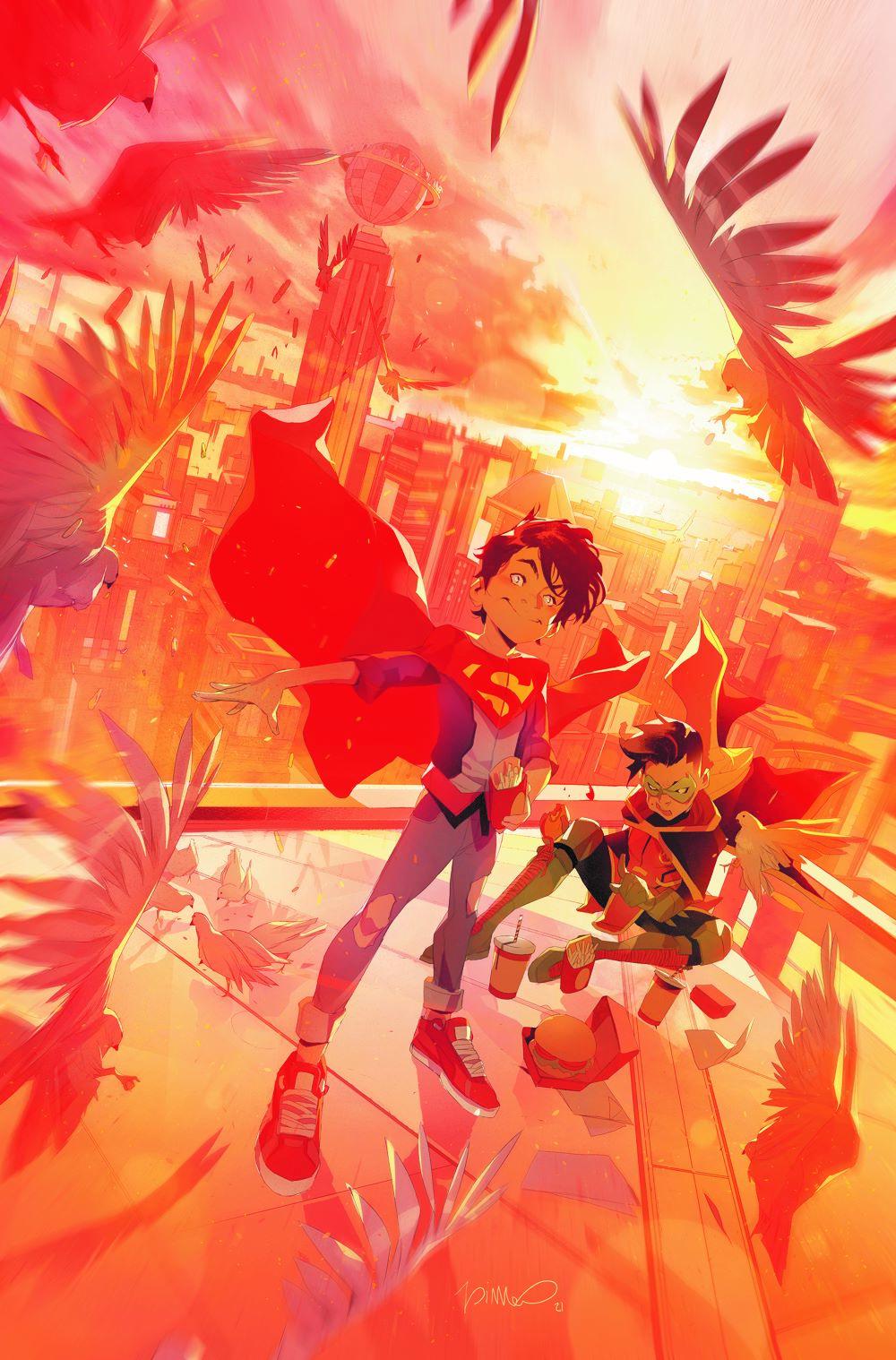 Challenge-Supersons-1-Colors-Di-Meo-Variant-Cover DC Comics April 2021 Solicitations