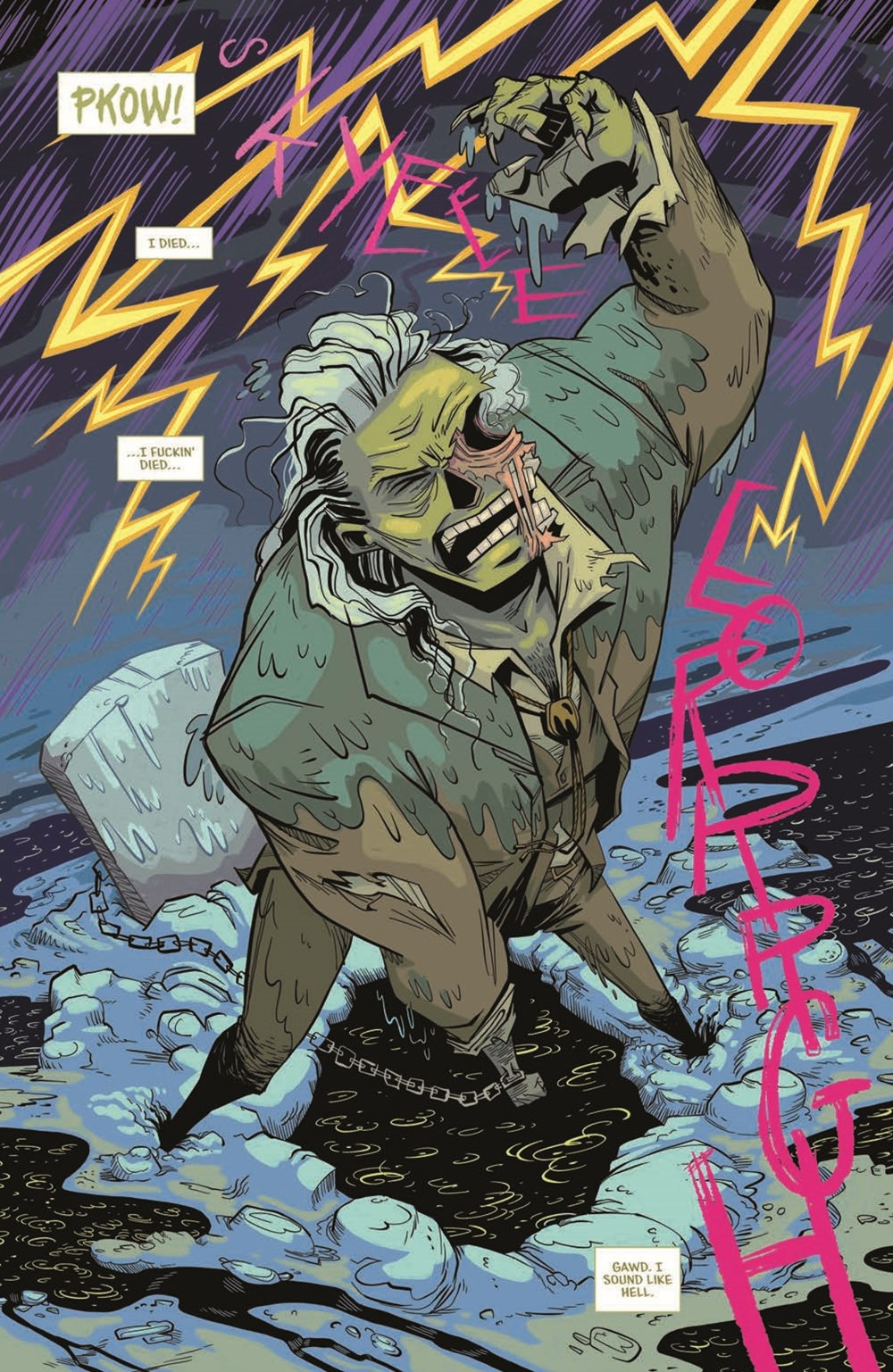 CttG01-pr-4 ComicList Previews: CHAINED TO THE GRAVE #1 (OF 5)
