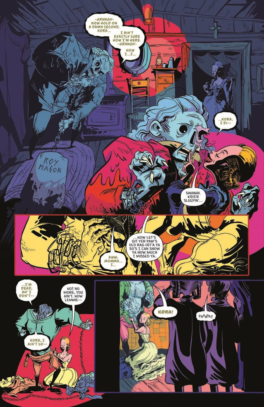 CttG01-pr-6 ComicList Previews: CHAINED TO THE GRAVE #1 (OF 5)