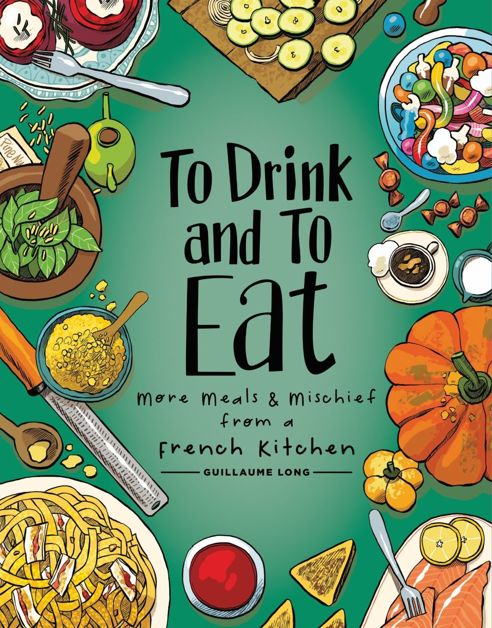 DRINKEATV2-REFERENCE-001 ComicList Previews: TO DRINK AND TO EAT VOLUME 2 HC