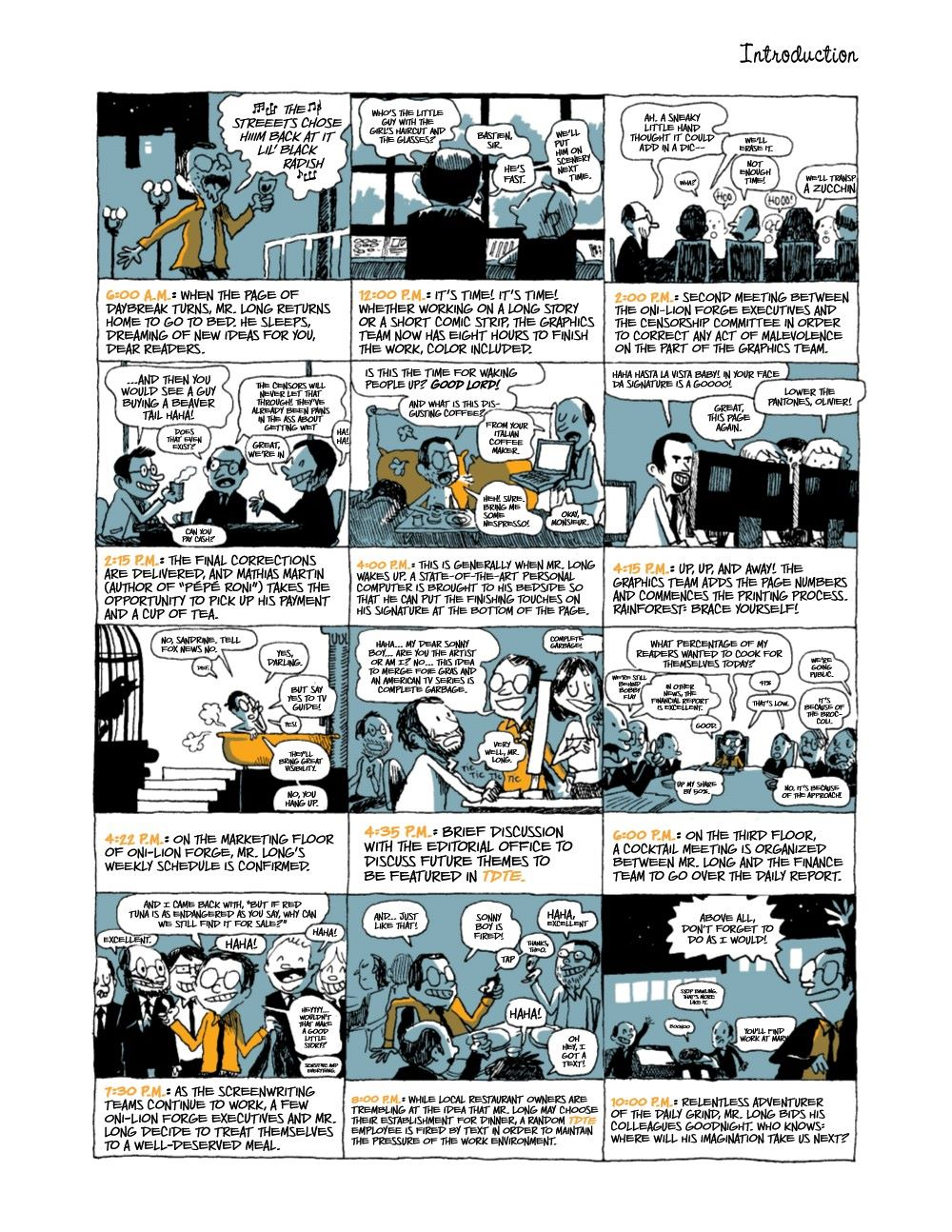 DRINKEATV2-REFERENCE-004 ComicList Previews: TO DRINK AND TO EAT VOLUME 2 HC