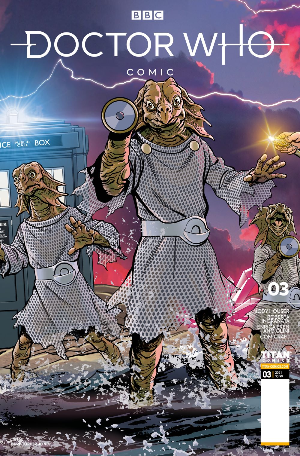 DW_3_C ComicList Previews: DOCTOR WHO COMICS #3