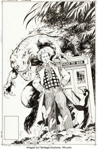 Doctor-Who-Age-of-Chaos-1-by-Alan-Davis-for-Marvel-UK-198x300 Foreign Variants Original Art - Famous Artists Low Prices