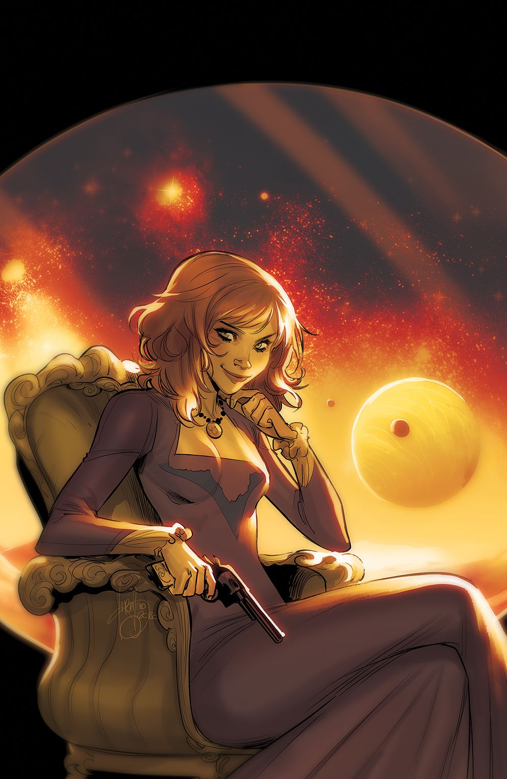 Firefly_025_Cover_E_Variant ComicList Previews: FIREFLY #25