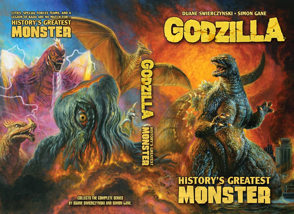 GODZILLA_HGM_COVER ComicList Previews: GODZILLA HISTORY'S GREATEST MONSTER TP (NEW PRINTING)