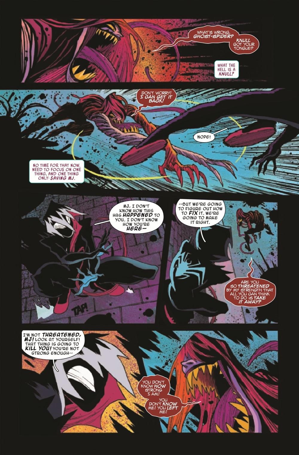 GWENOMVSCARNKIB2021002_Preview-4 ComicList Previews: KING IN BLACK GWENOM VS CARNAGE #2 (OF 3)