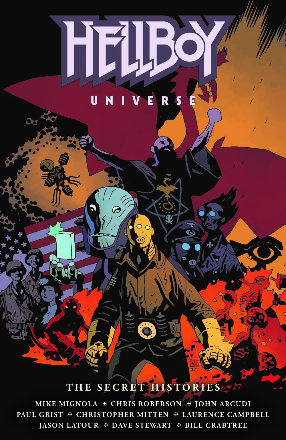 HBYUSH_CVR_4x6_SOL Dark Horse Comics April 2021 Solicitations