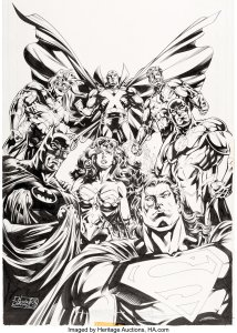 Howard-Porter-and-John-Dell-JLA-1-214x300 A Wonder Woman Among Boys: Grade A on the CAT Scale