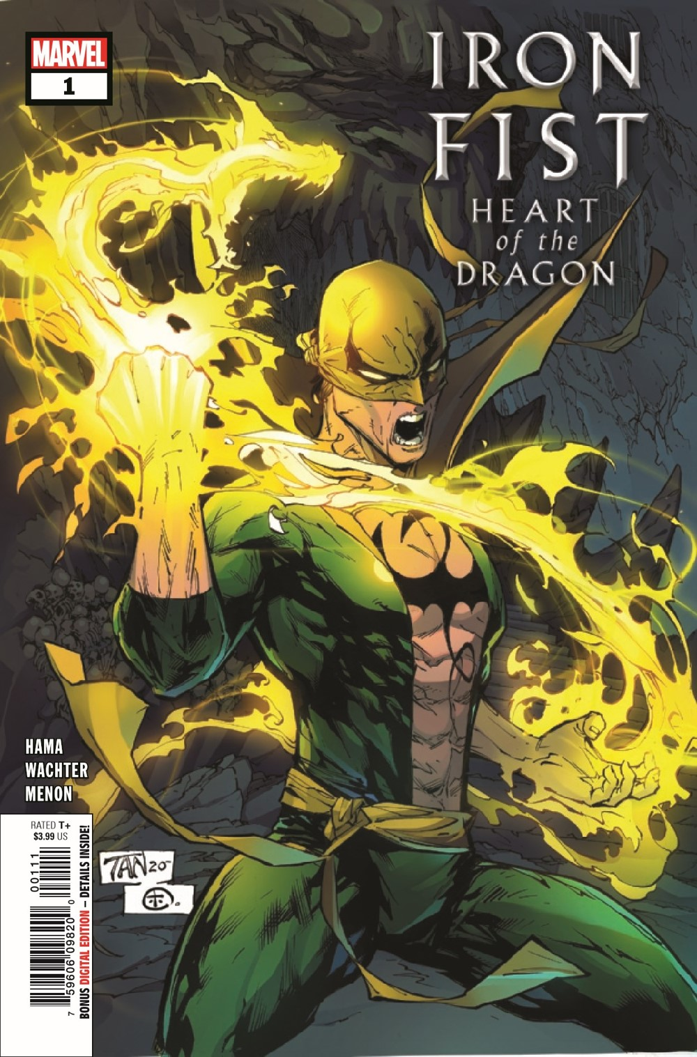 IRONFISTHOD2021001_Preview-1 ComicList Previews: IRON FIST HEART OF THE DRAGON #1 (OF 6)