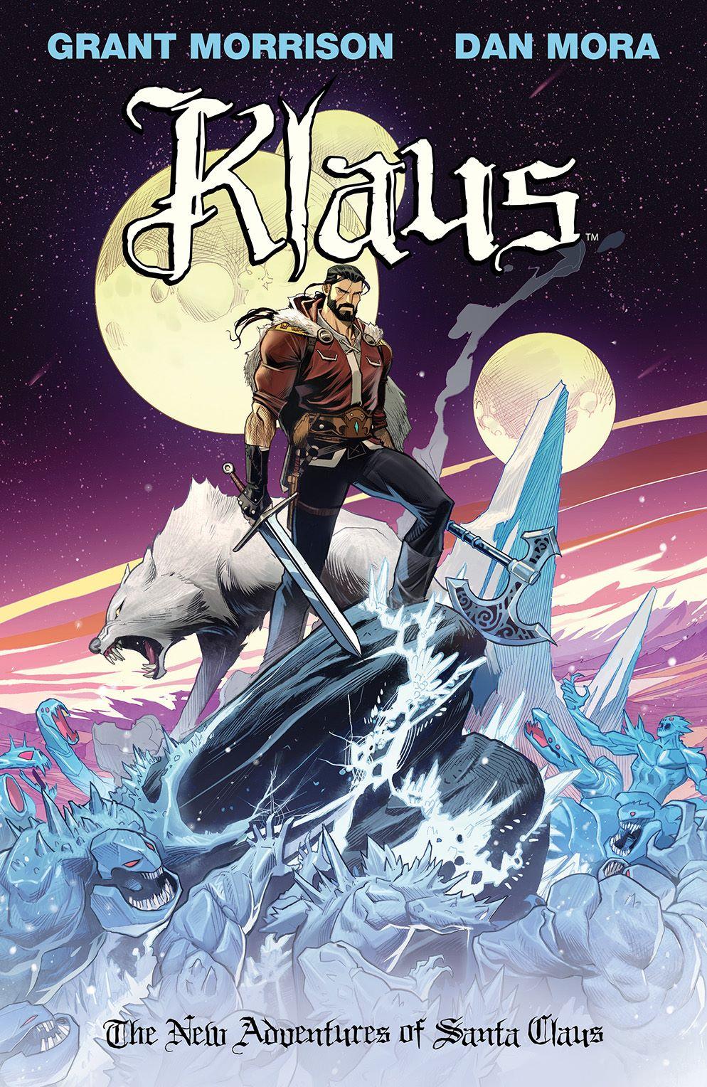Klaus_NewAdventures_SC_Cover ComicList Previews: KLAUS THE NEW ADVENTURES OF SANTA CLAUS GN