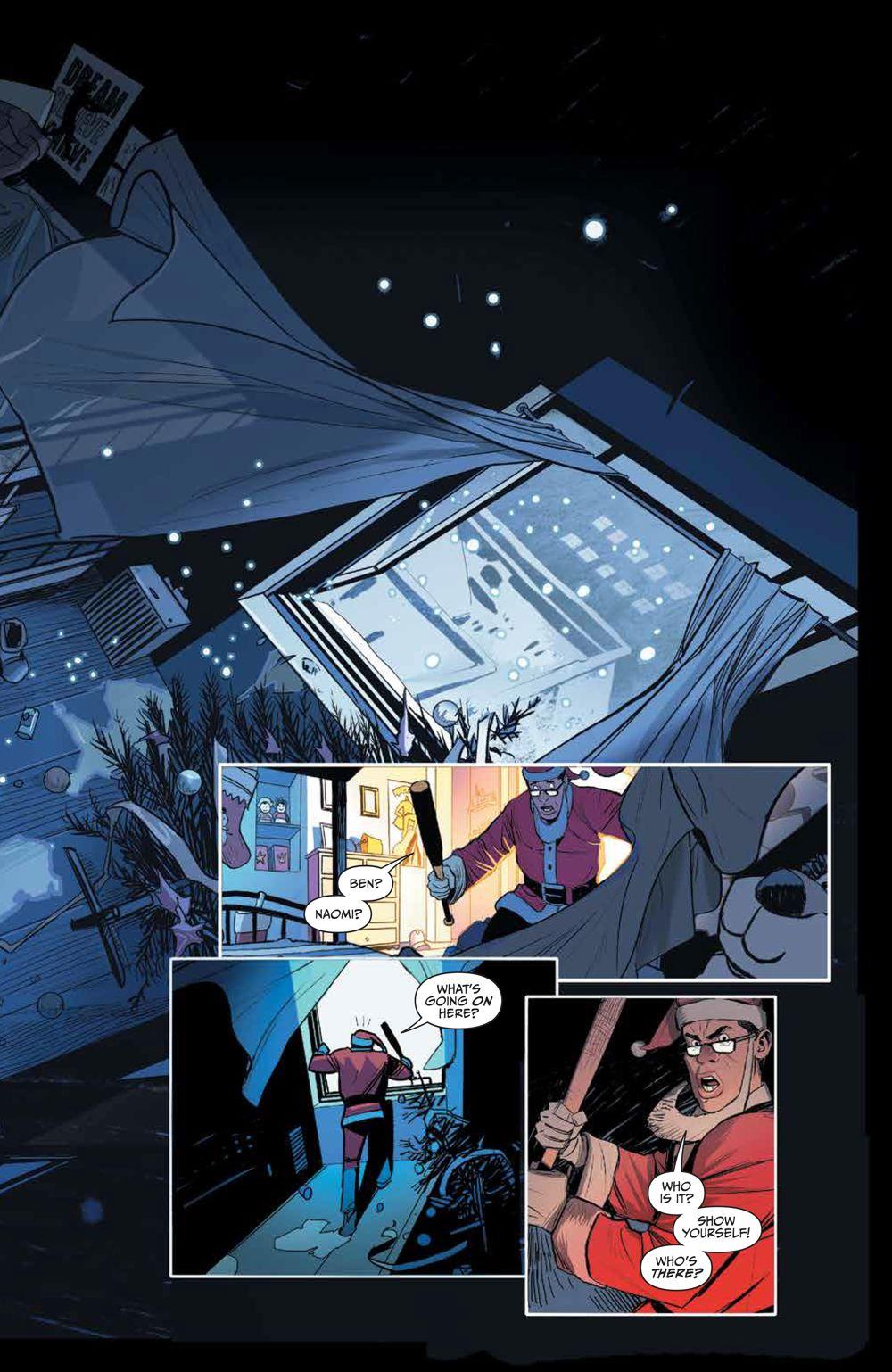 Klaus_NewAdventures_SC_PRESS_11 ComicList Previews: KLAUS THE NEW ADVENTURES OF SANTA CLAUS GN