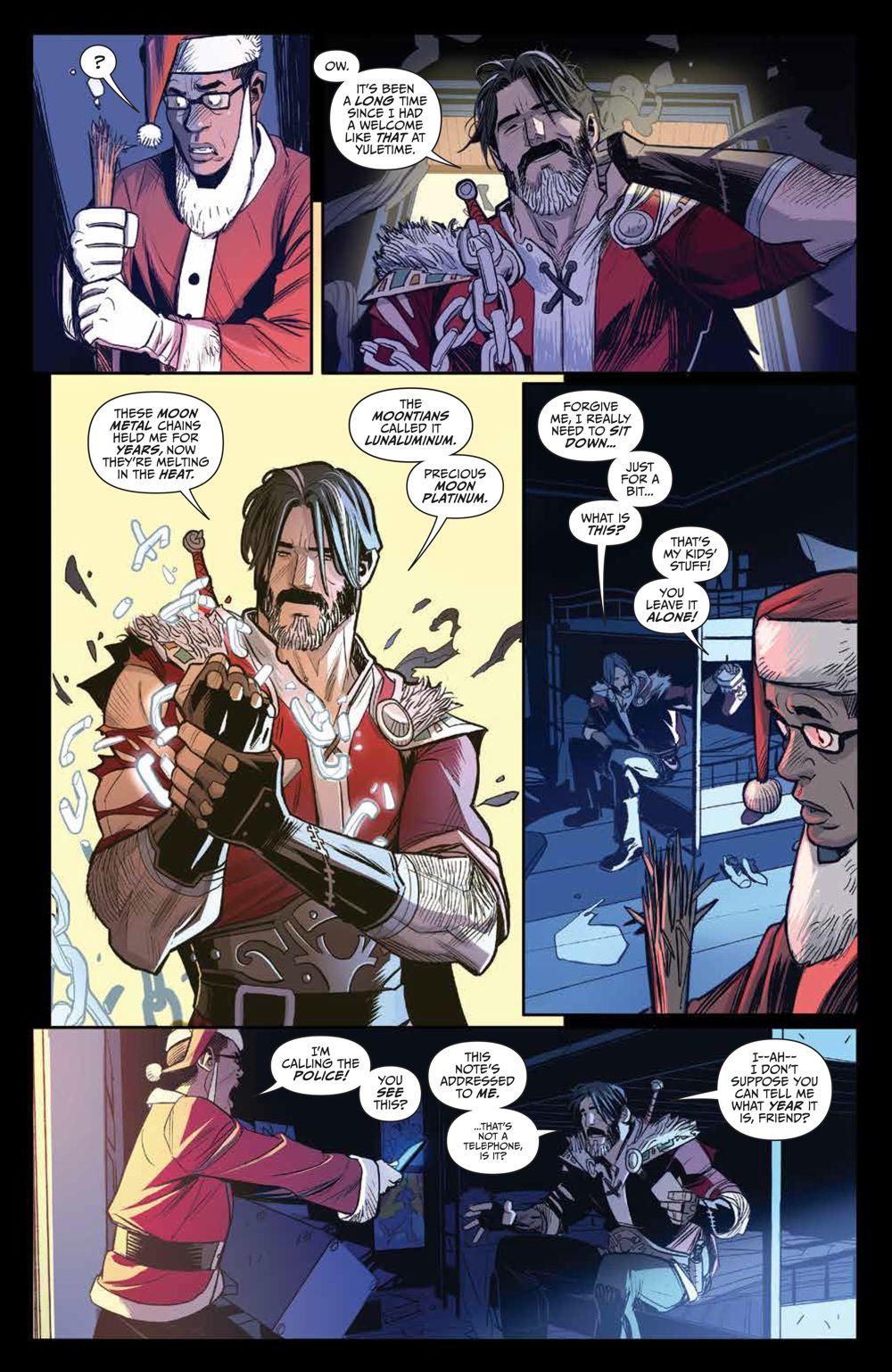 Klaus_NewAdventures_SC_PRESS_13 ComicList Previews: KLAUS THE NEW ADVENTURES OF SANTA CLAUS GN