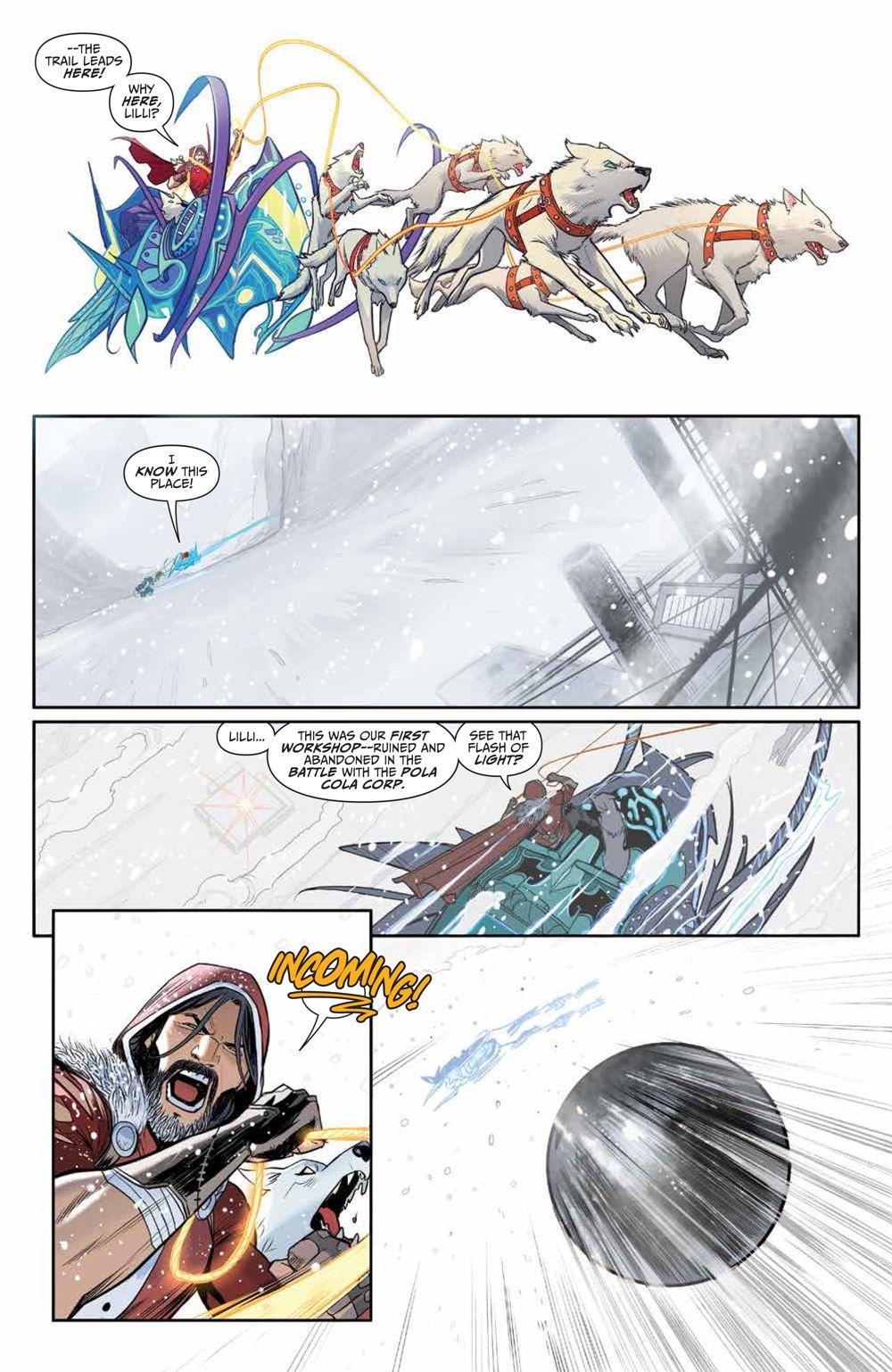 Klaus_NewAdventures_SC_PRESS_18 ComicList Previews: KLAUS THE NEW ADVENTURES OF SANTA CLAUS GN
