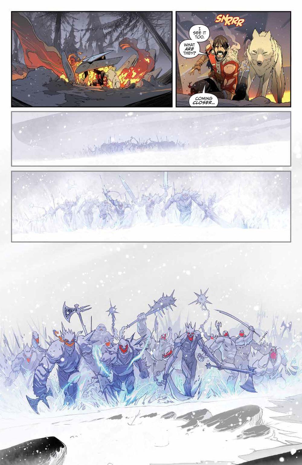 Klaus_NewAdventures_SC_PRESS_20 ComicList Previews: KLAUS THE NEW ADVENTURES OF SANTA CLAUS GN