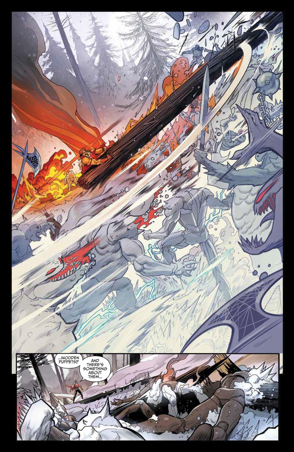 Klaus_NewAdventures_SC_PRESS_21 ComicList Previews: KLAUS THE NEW ADVENTURES OF SANTA CLAUS GN