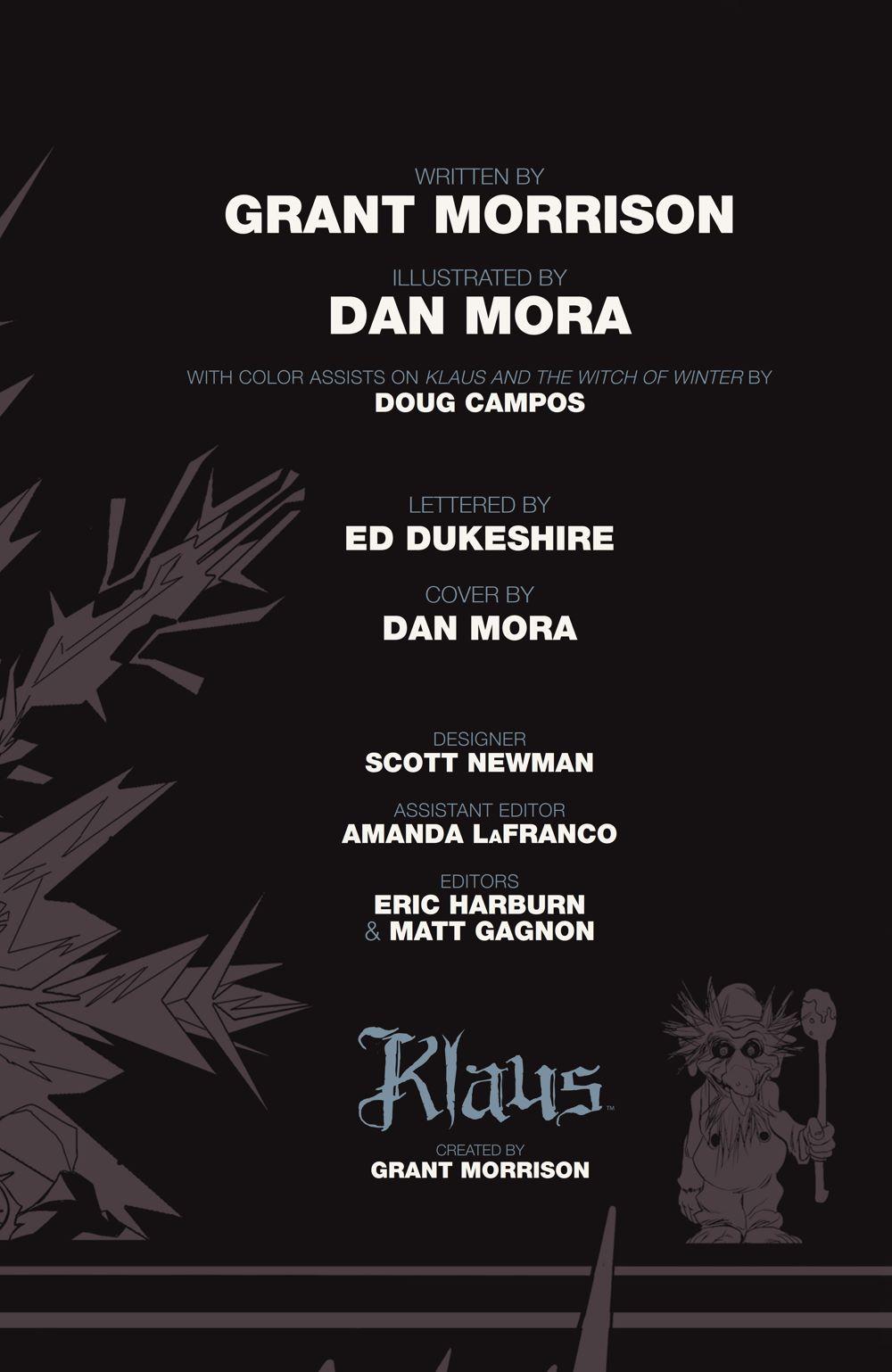 Klaus_NewAdventures_SC_PRESS_7 ComicList Previews: KLAUS THE NEW ADVENTURES OF SANTA CLAUS GN