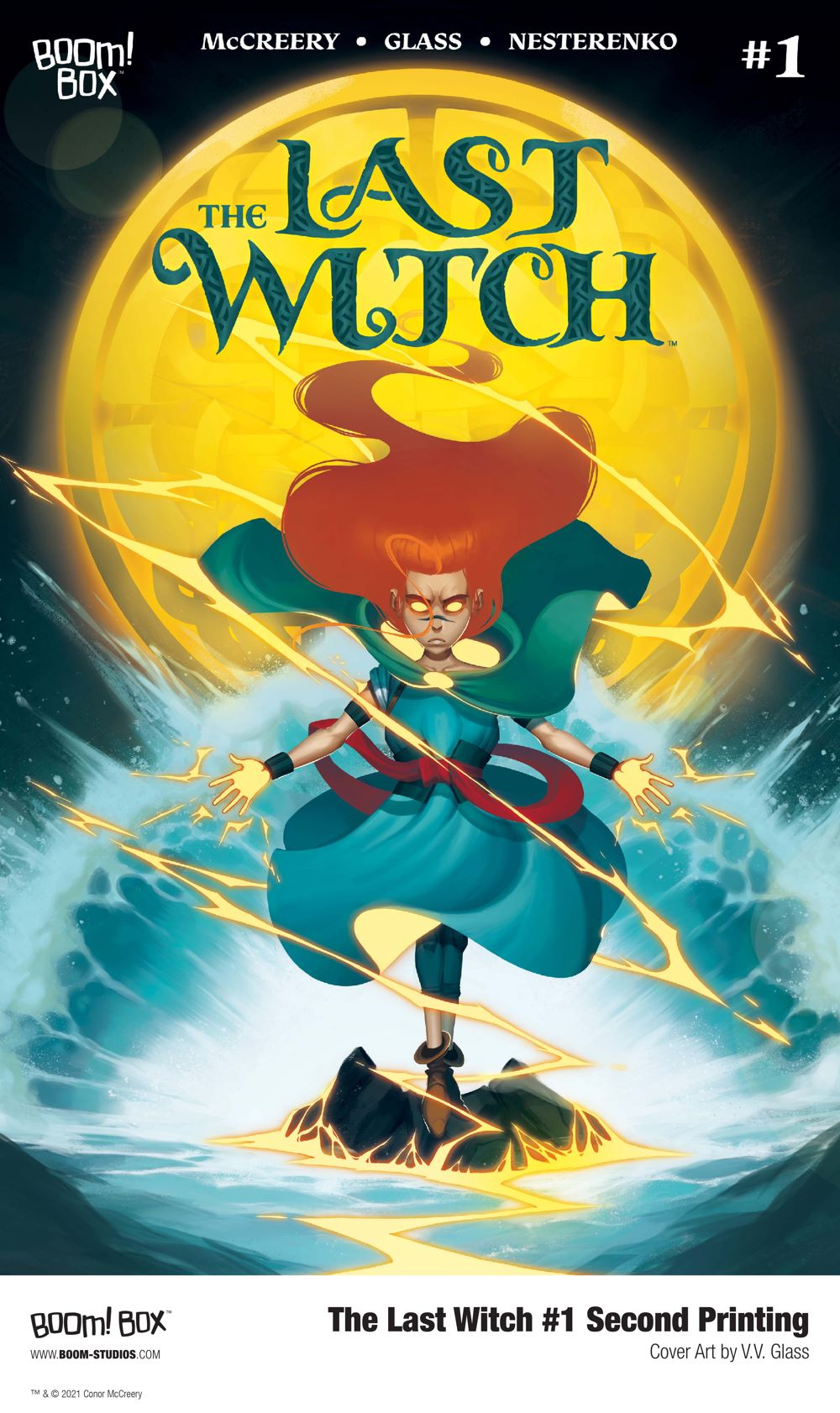 LastWitch_001_Cover_Variant_2ndPrint_PROMO First Look at BOOM! Studios' THE LAST WITCH #2