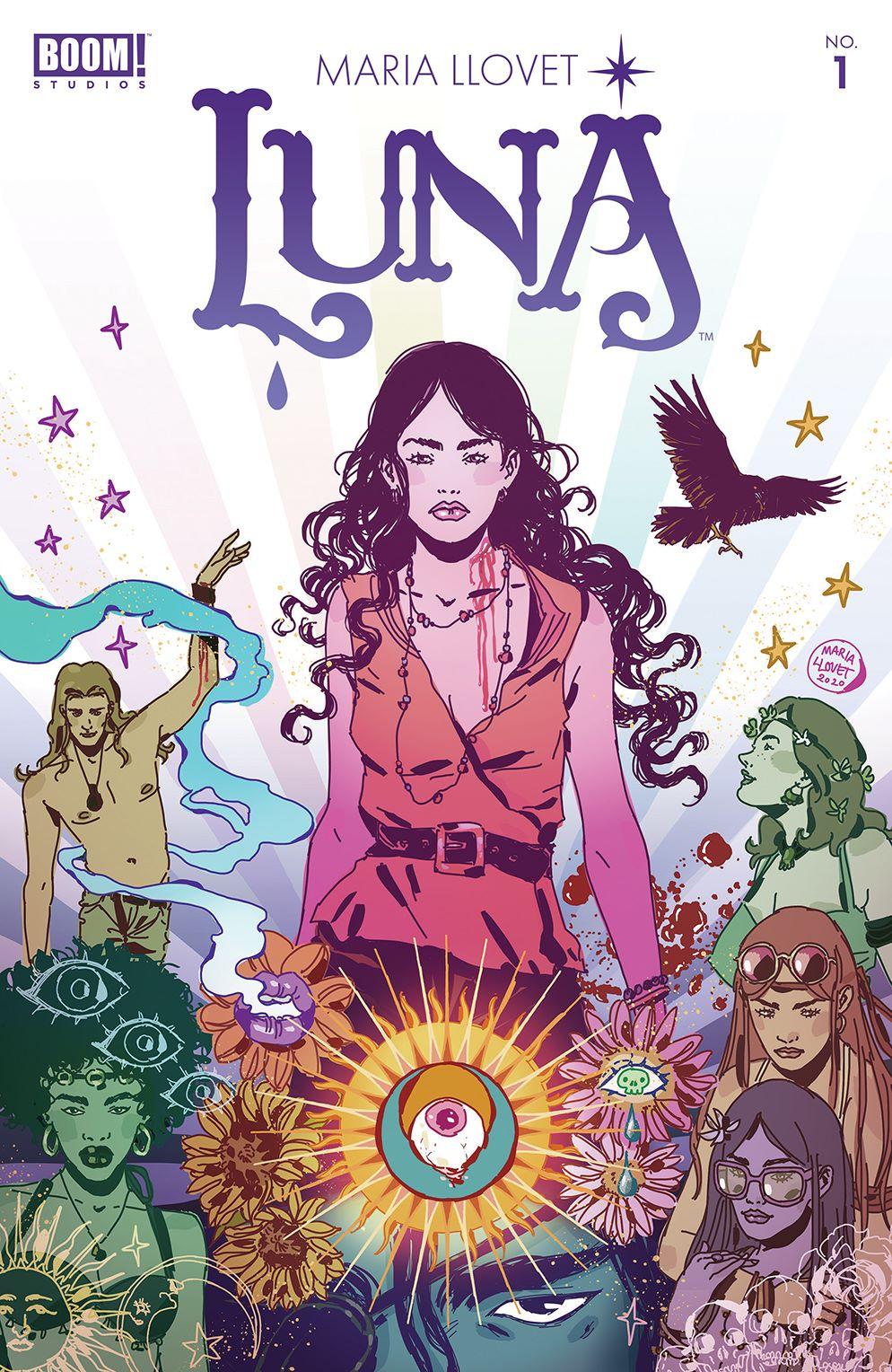 Luna_001_Cover_A_Main ComicList: BOOM! Studios New Releases for 02/03/2021