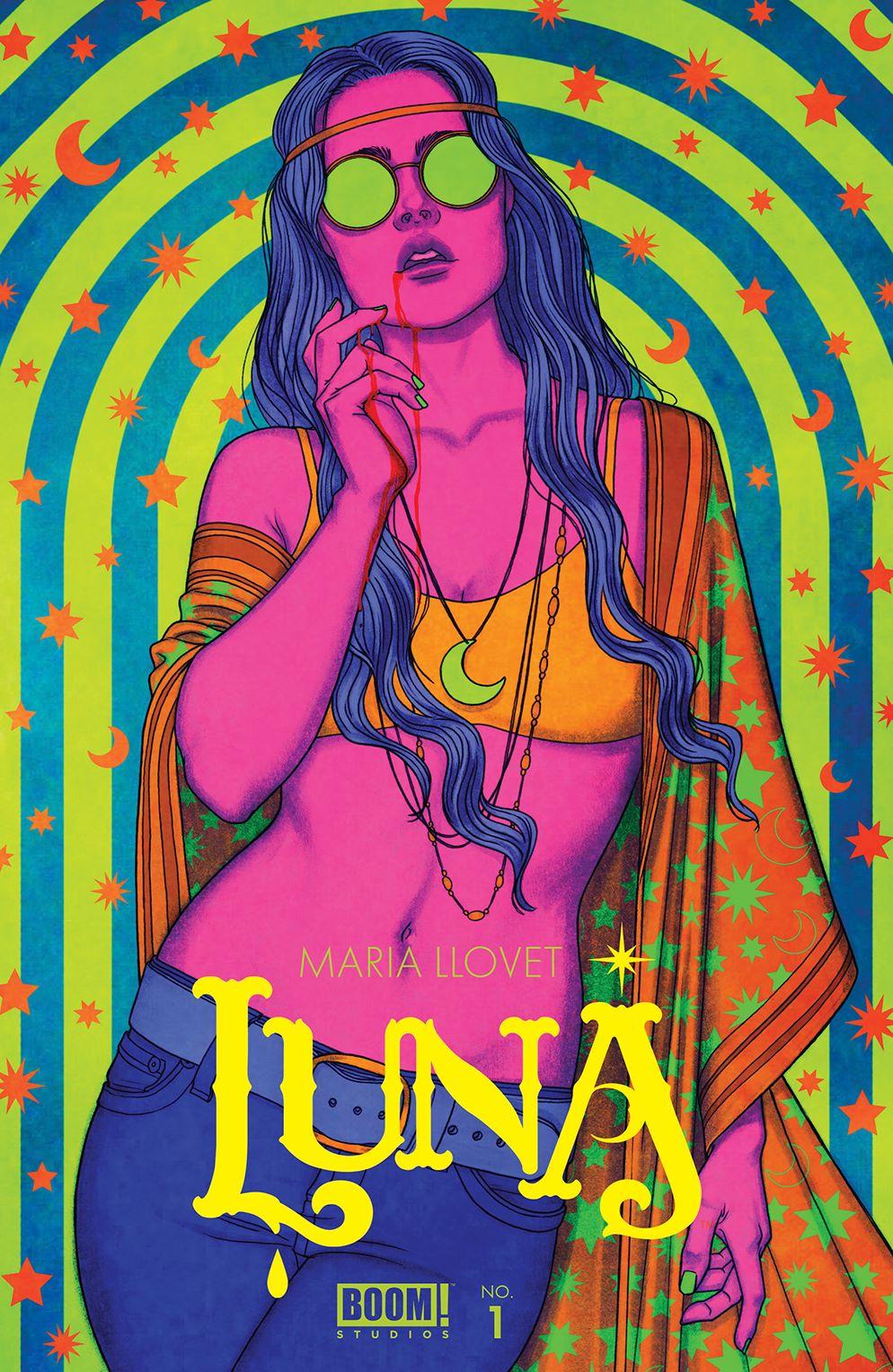 Luna_001_Cover_B_Variant ComicList: BOOM! Studios New Releases for 02/03/2021