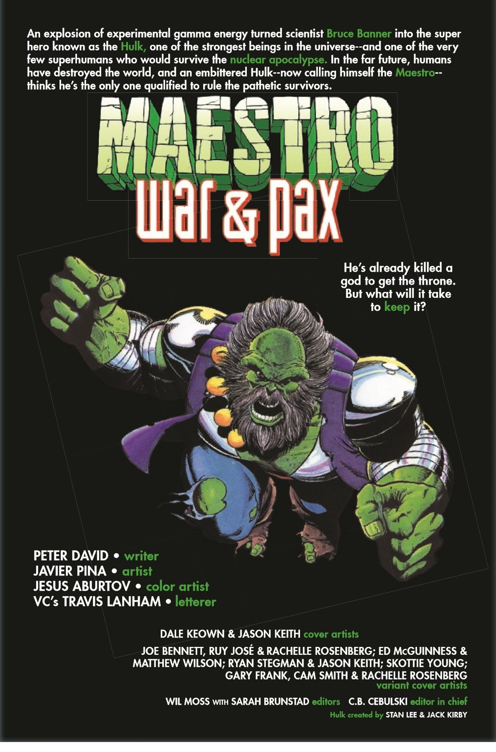 MAESTROWAP2021001_Preview-2 ComicList Previews: MAESTRO WAR AND PAX #1 (OF 5)