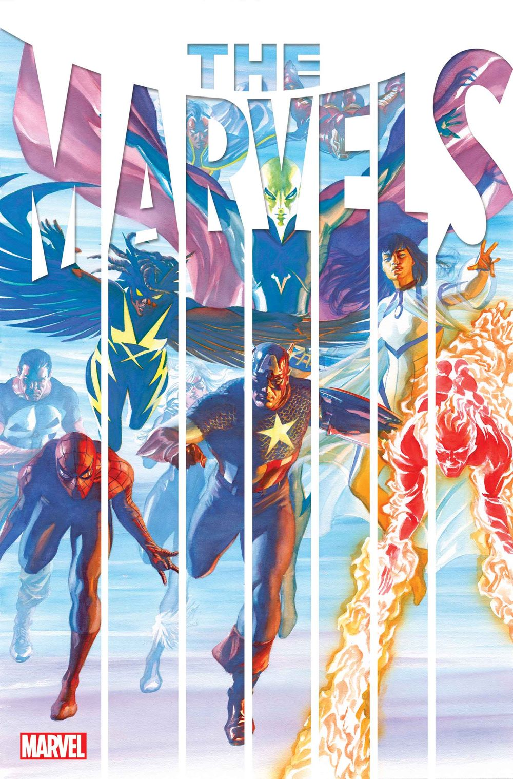 MARVELS_2021001_Cov THE MARVELS gives Kurt Busiek full access to the Marvel Universe