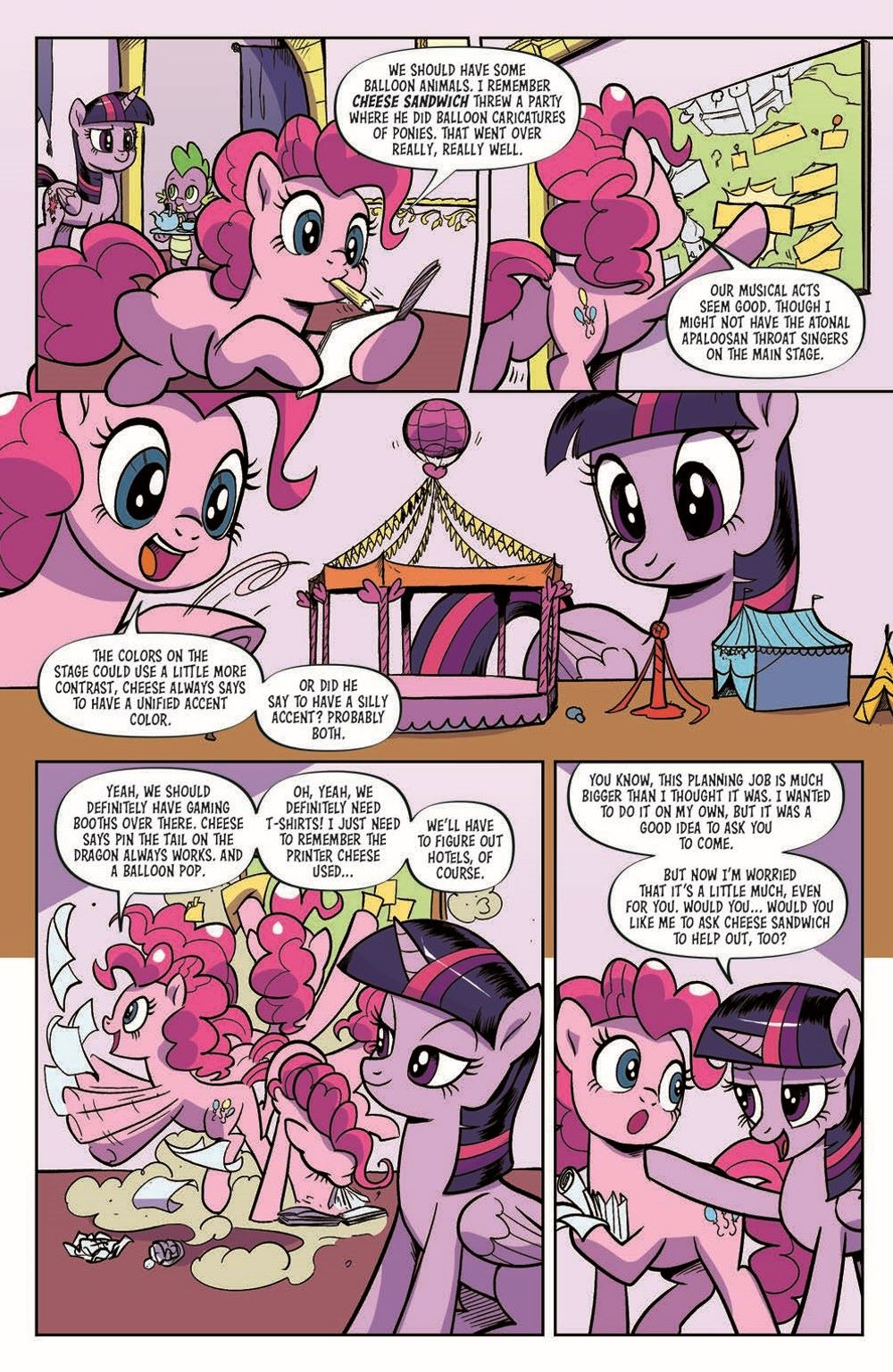 MLP94-pr-6 ComicList Previews: MY LITTLE PONY FRIENDSHIP IS MAGIC #94