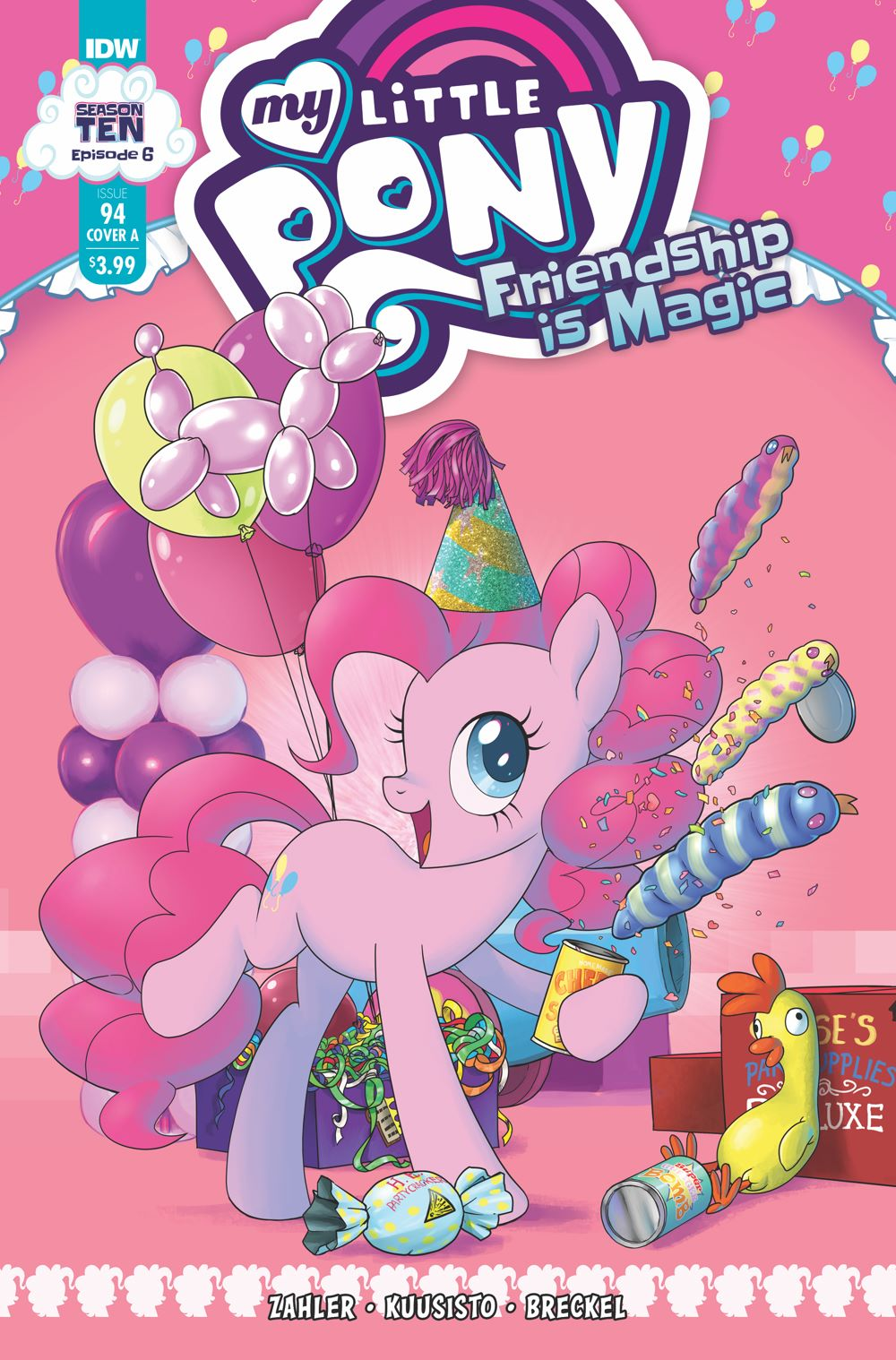 MLP94_06-coverA ComicList Previews: MY LITTLE PONY FRIENDSHIP IS MAGIC #94