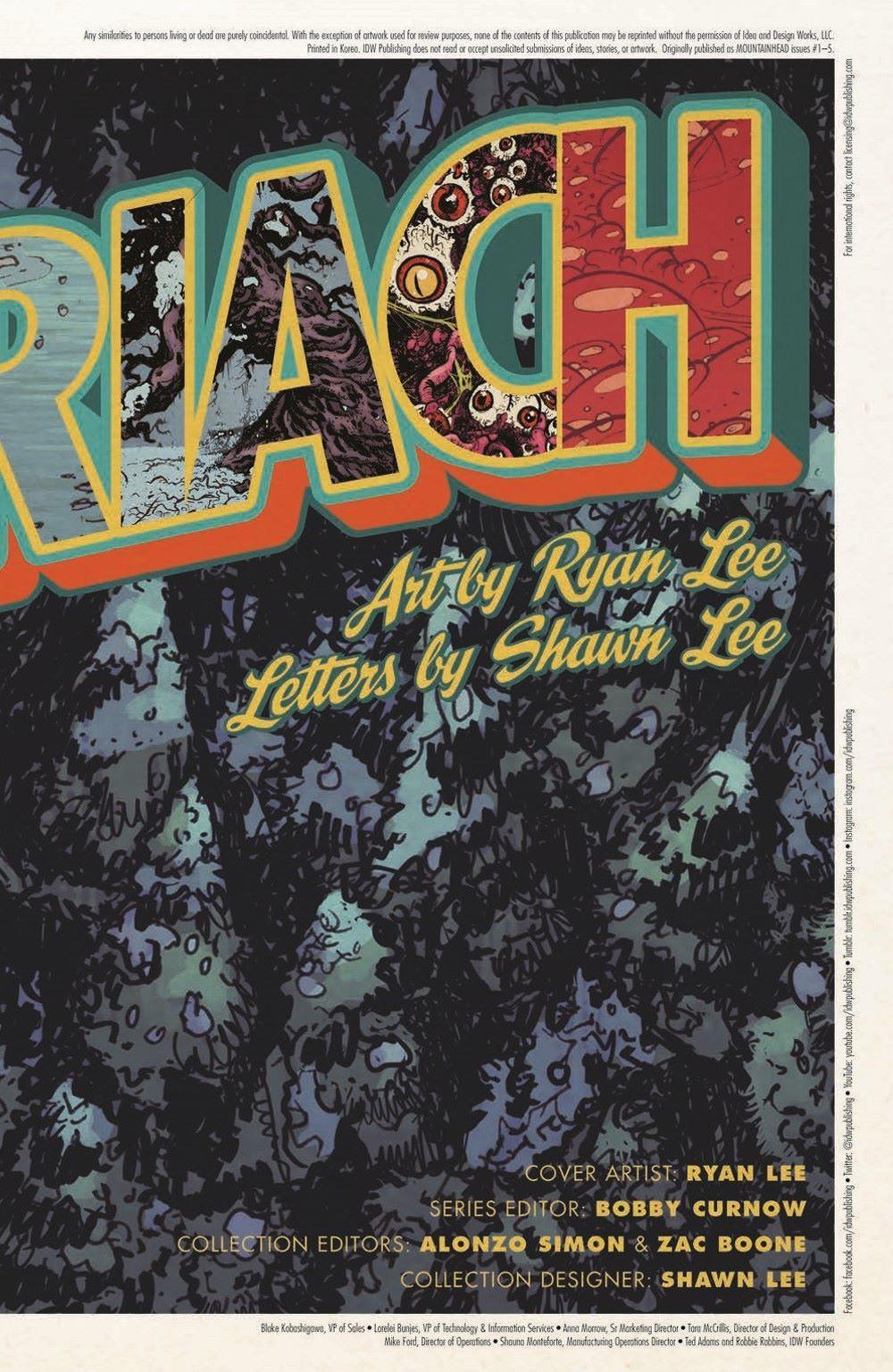 MTNH-TPB_pr-3 ComicList Previews: MOUNTAINHEAD VOLUME 1 TP