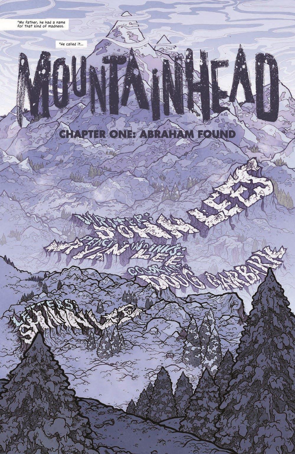 MTNH-TPB_pr-5 ComicList Previews: MOUNTAINHEAD VOLUME 1 TP
