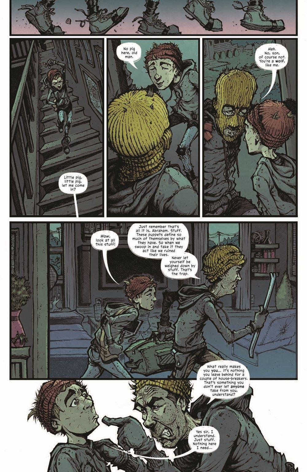 MTNH-TPB_pr-7 ComicList Previews: MOUNTAINHEAD VOLUME 1 TP
