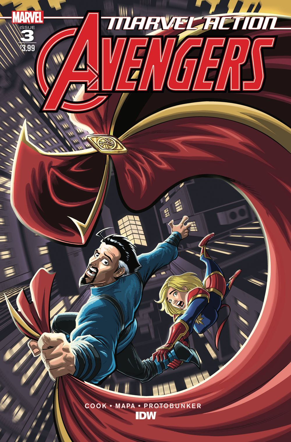 Marvel_Avengers03_coverA ComicList: IDW Publishing New Releases for 01/06/2021