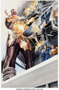 Marvels-3-Page-30-by-Alex-Ross-199x300 Alex Ross Painted Covers: Museum-Quality Fine Art