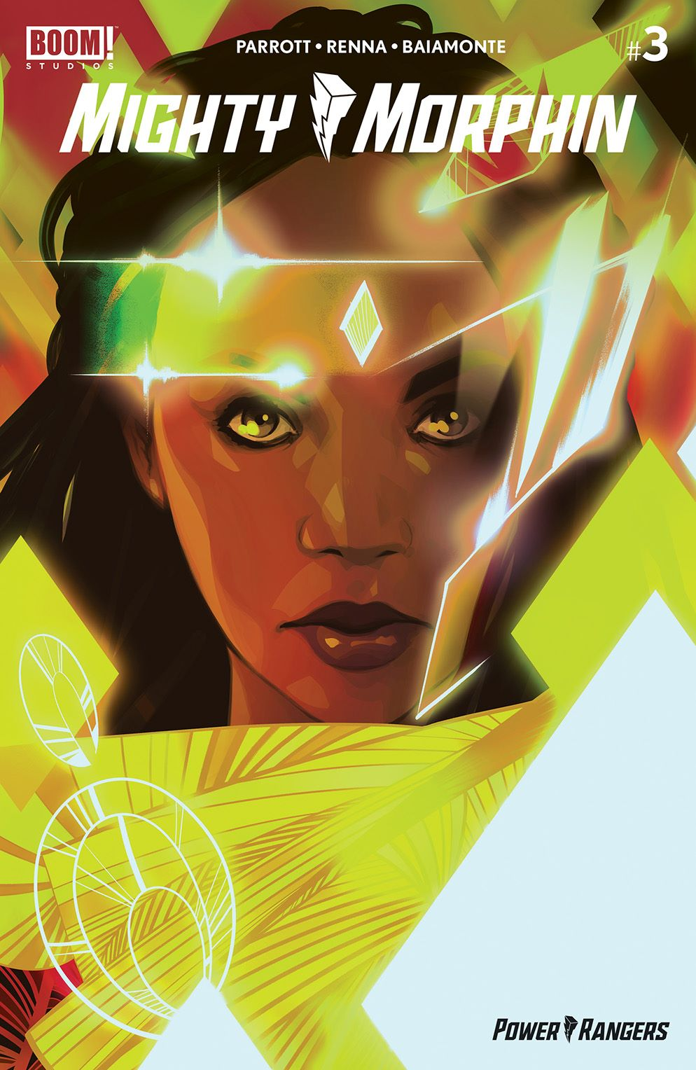 MightyMorphin_003_Cover_F_Variant ComicList Previews: MIGHTY MORPHIN #3