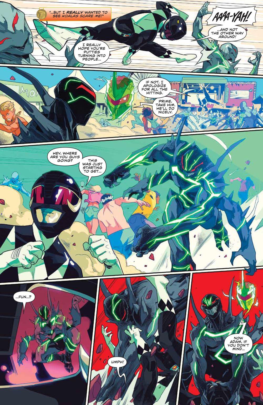 MightyMorphin_003_PRESS_7 ComicList Previews: MIGHTY MORPHIN #3