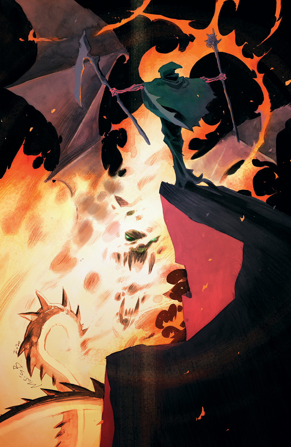 OnceFuture_015_Cover_C_Variant ComicList: BOOM! Studios New Releases for 01/20/2021