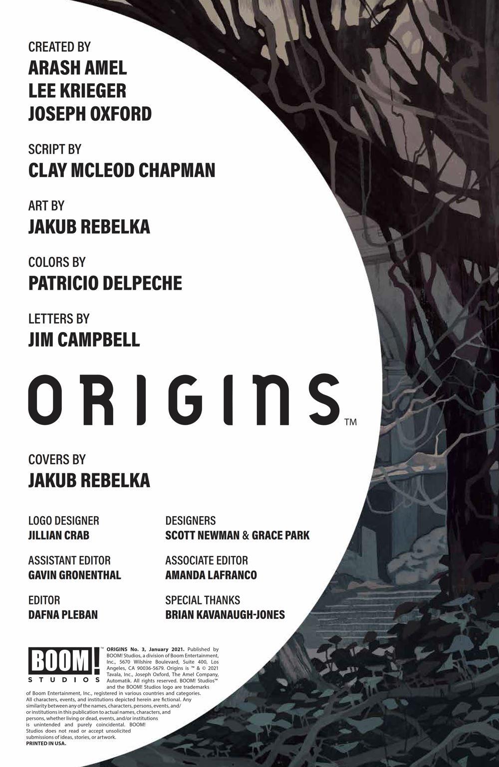Origins_003_PRESS_2 ComicList Previews: ORIGINS #3 (OF 6)