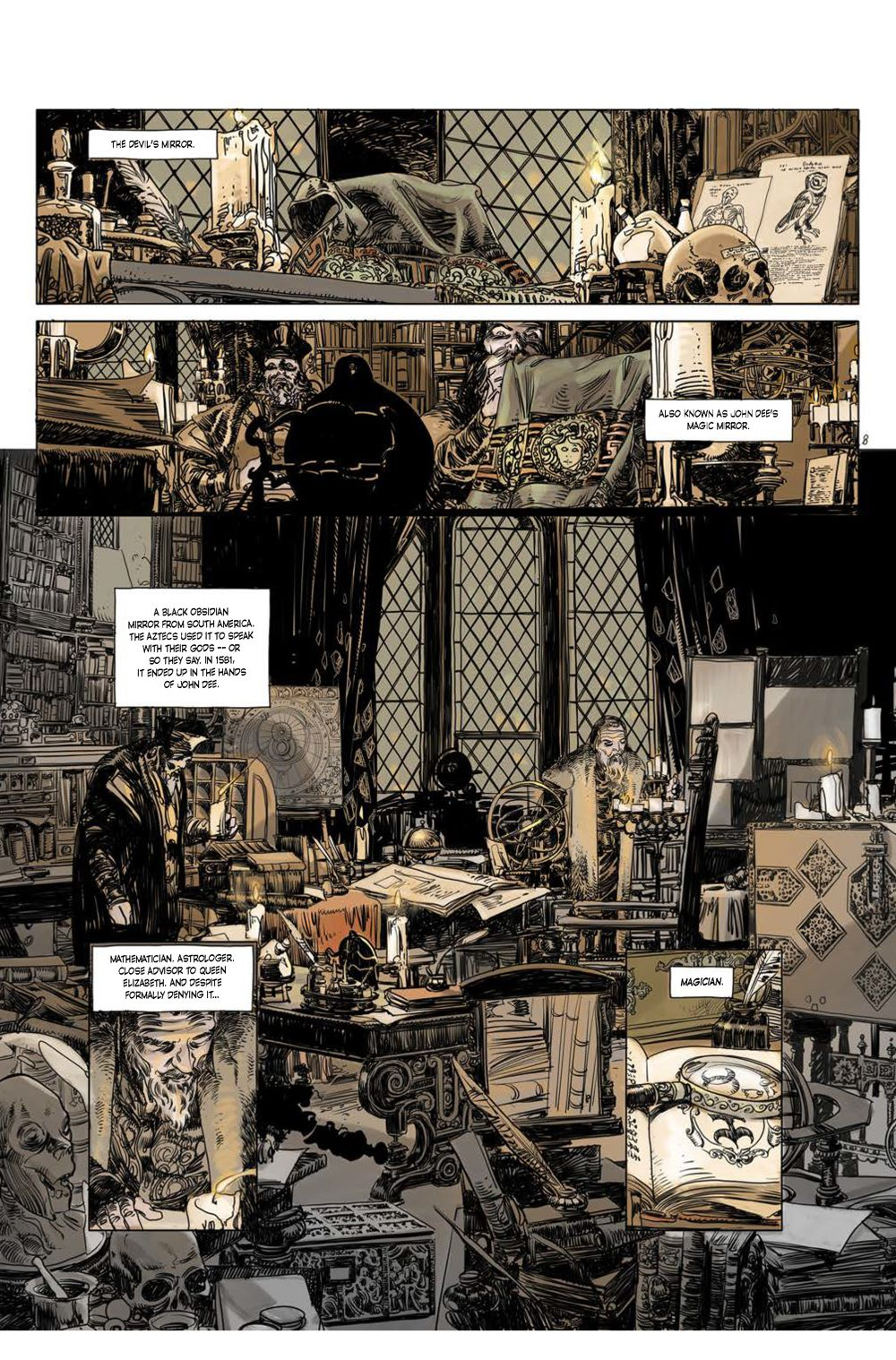 Page_3 ComicList Previews: CUTTING EDGE THE DEVIL'S MIRROR #1 (OF 2)