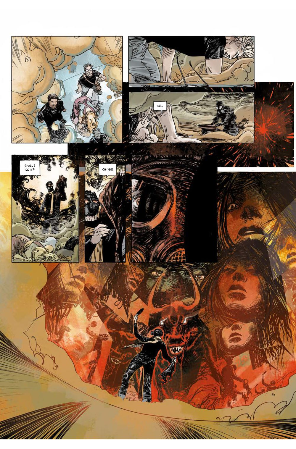 Page_5 ComicList Previews: CUTTING EDGE THE DEVIL'S MIRROR #1 (OF 2)