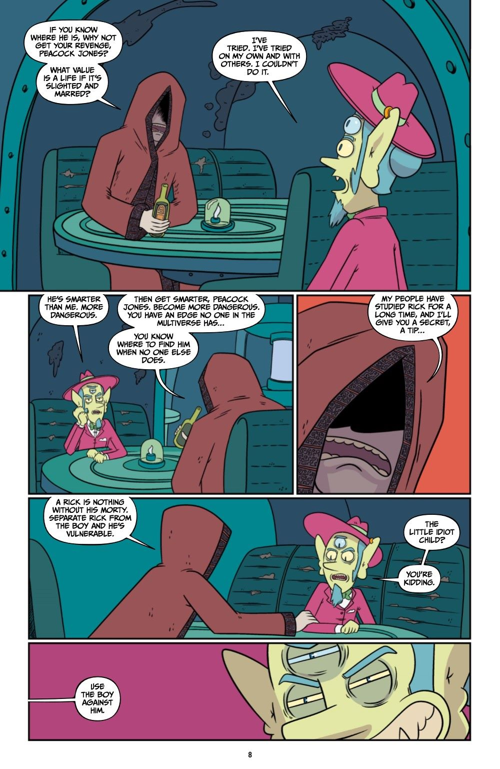 RICKMORTY-V12-TPB-REFERENCE-009 ComicList Previews: RICK AND MORTY VOLUME 12 TP