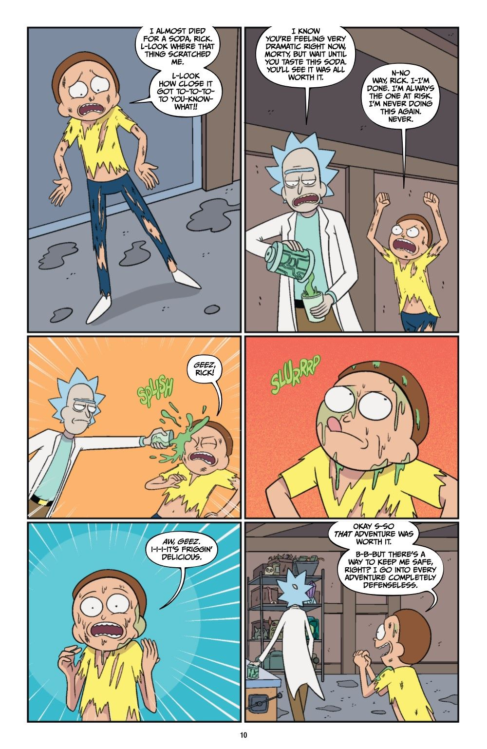 RICKMORTY-V12-TPB-REFERENCE-011 ComicList Previews: RICK AND MORTY VOLUME 12 TP