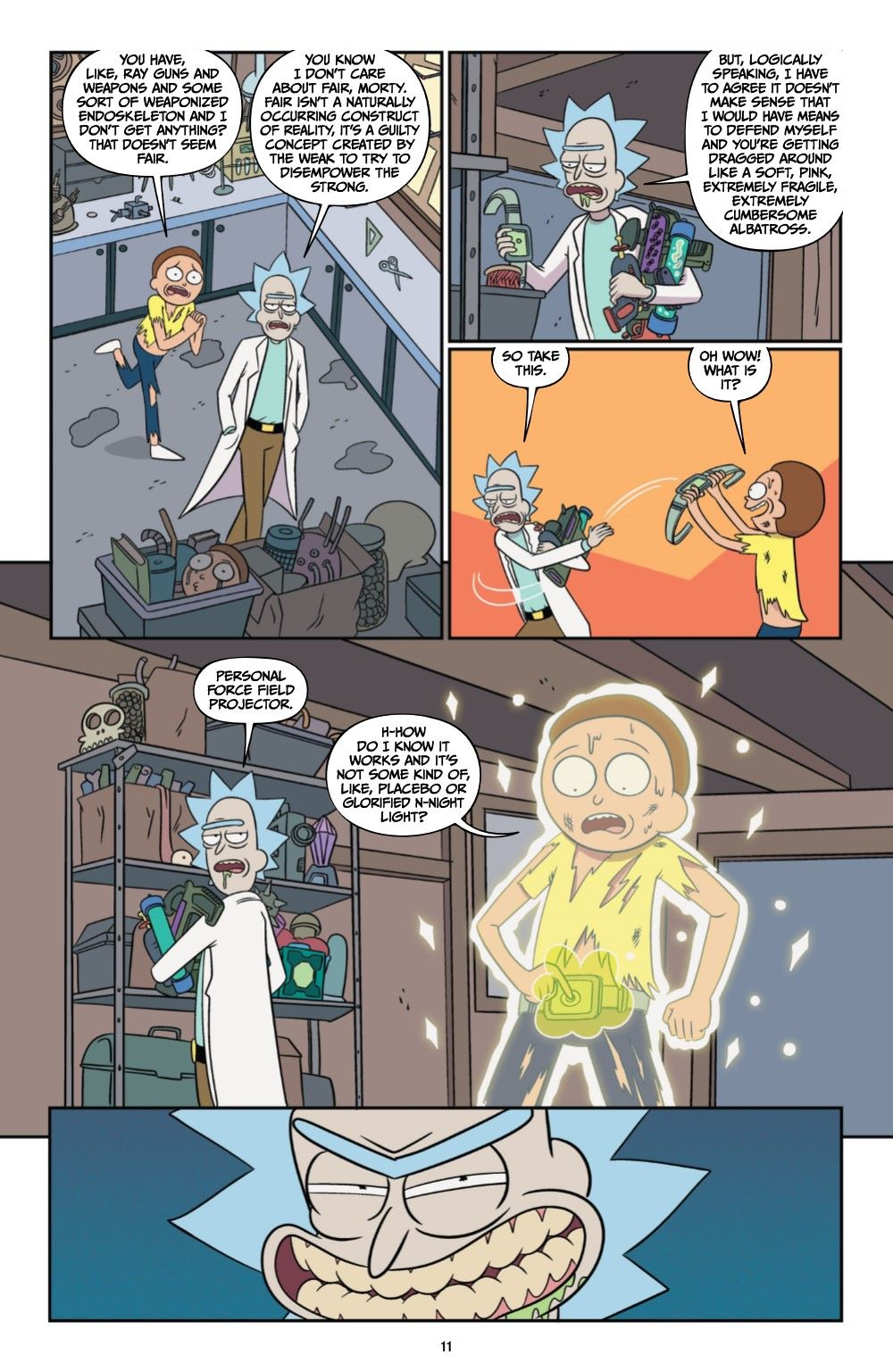 RICKMORTY-V12-TPB-REFERENCE-012 ComicList Previews: RICK AND MORTY VOLUME 12 TP