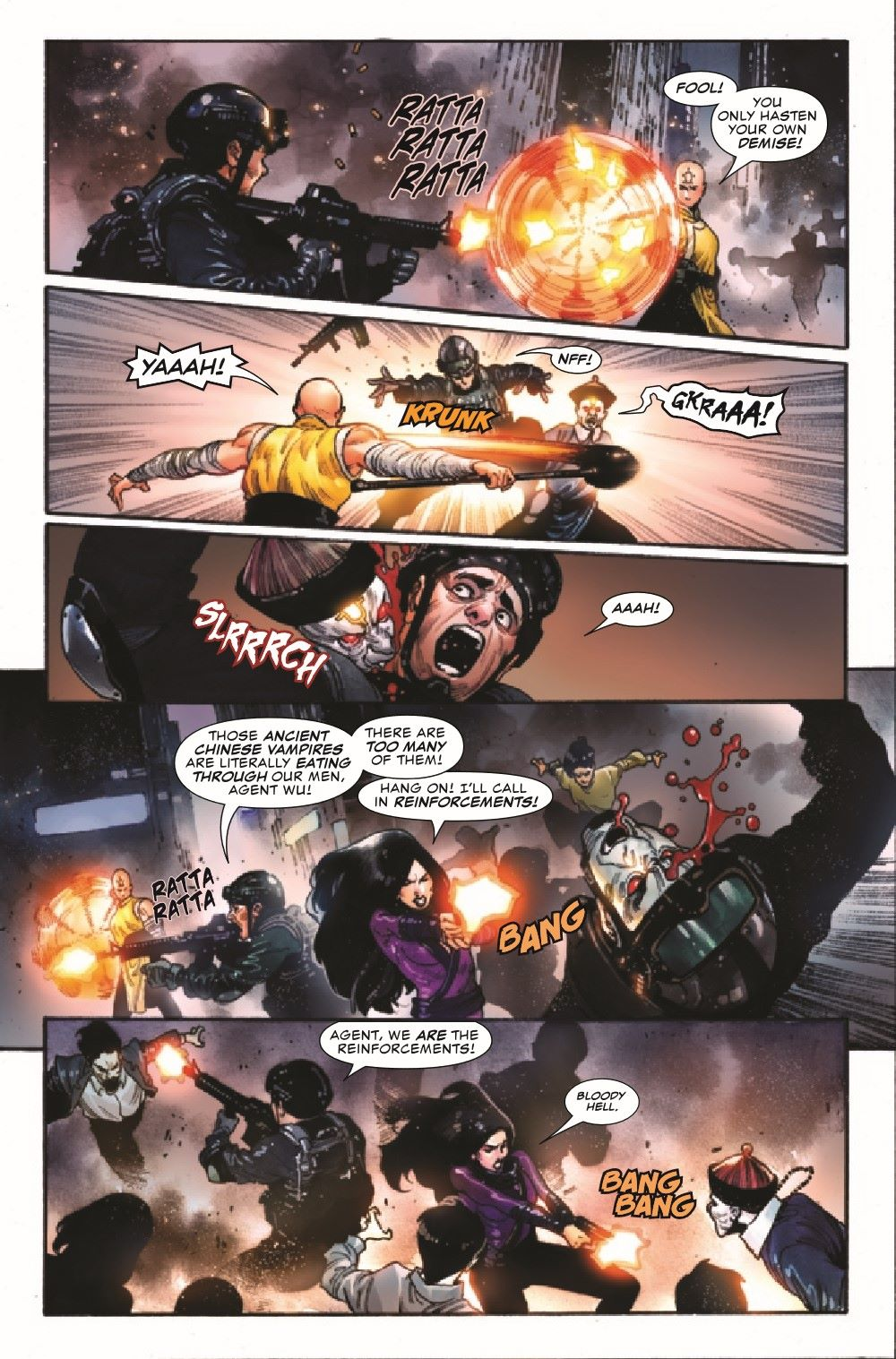 SHANGCHI2020005_Preview-4 ComicList Previews: SHANG-CHI #5 (OF 5)