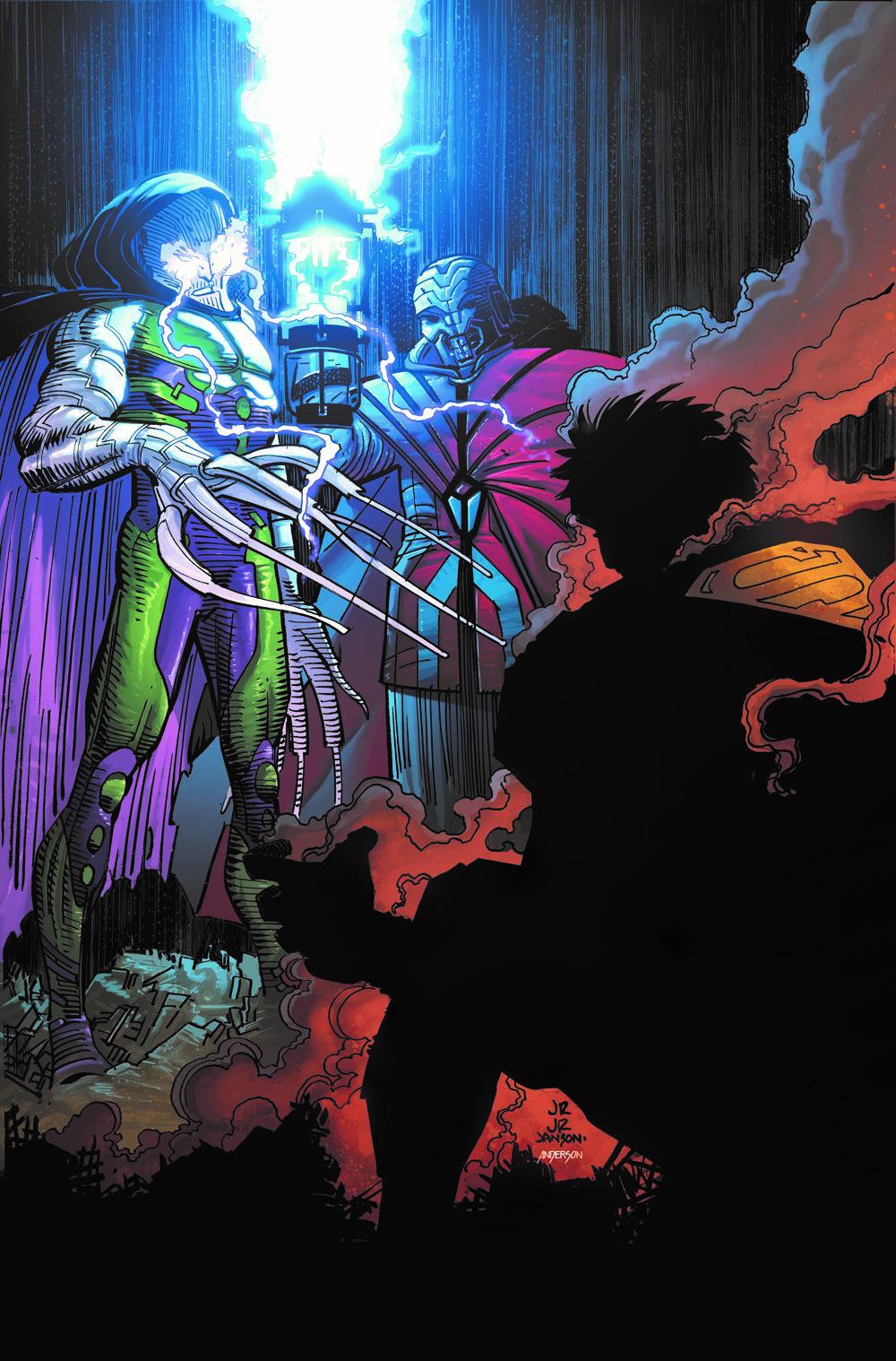 SM-ACTION-VOL4-METROPOLIS-BURNING DC Comics April 2021 Solicitations